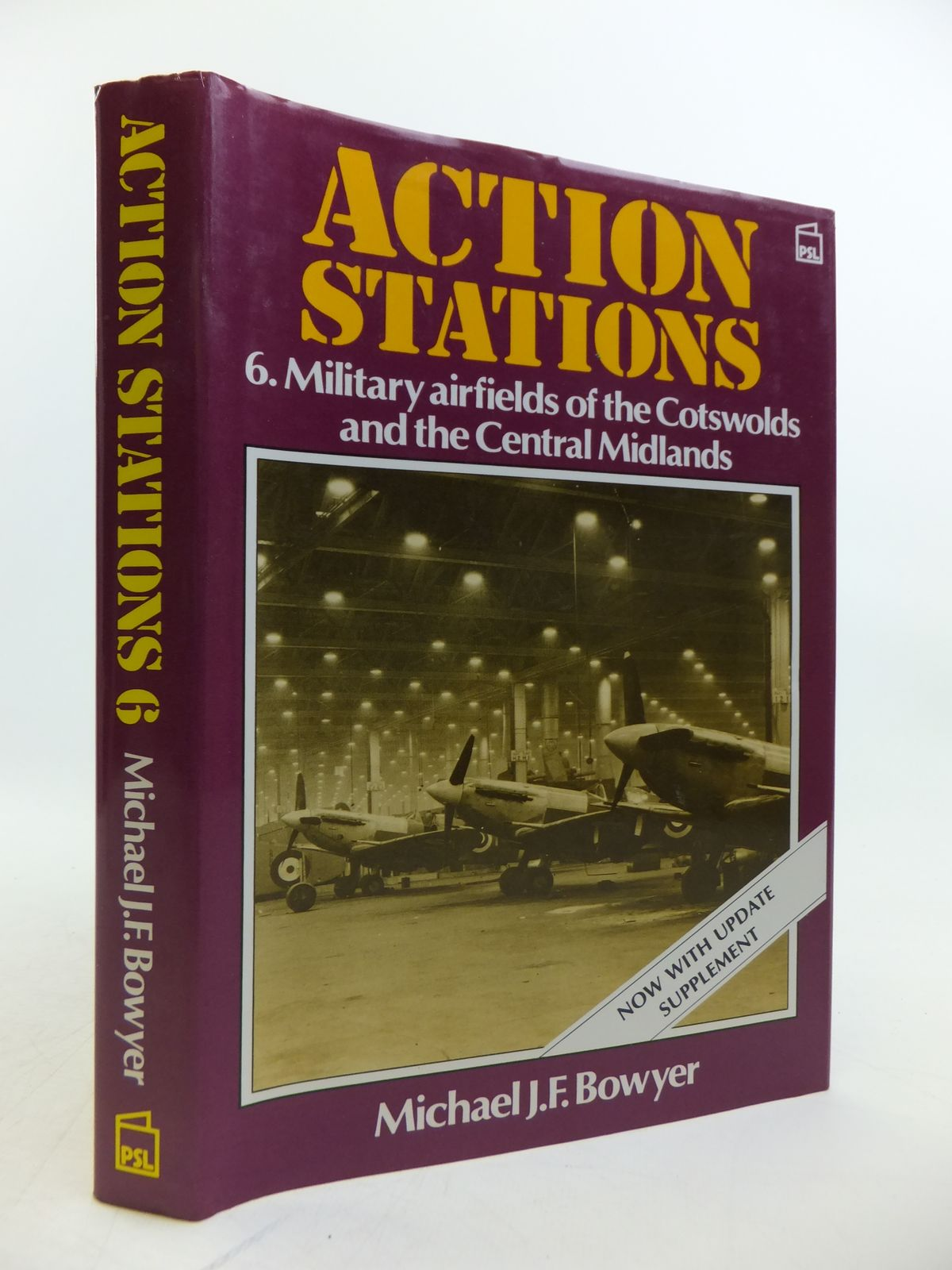 Photo of ACTION STATIONS 6 MILITARY AIRFIELDS OF THE COTSWOLDS AND CENTRAL MIDLANDS written by Bowyer, Michael J.F. published by Patrick Stephens (STOCK CODE: 1811871)  for sale by Stella & Rose's Books