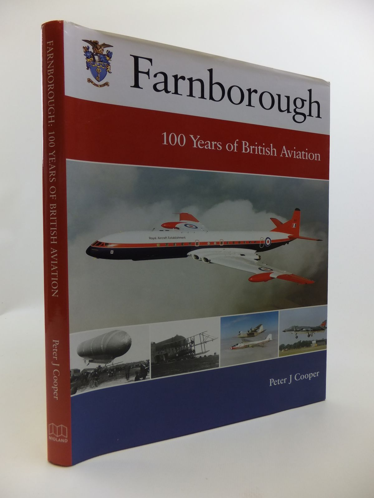 Photo of FARNBOROUGH 100 YEARS OF BRITISH AVIATION written by Cooper, Peter J. published by Midland Publishing (STOCK CODE: 1811880)  for sale by Stella & Rose's Books