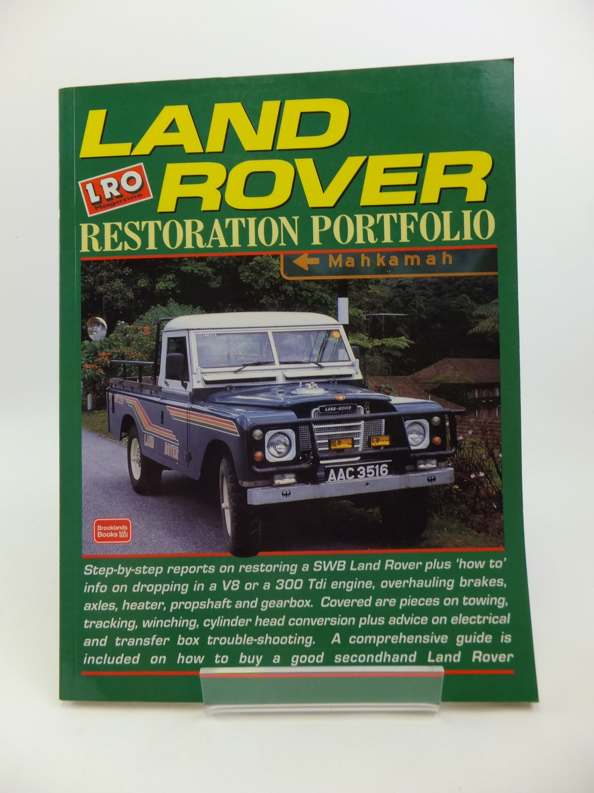 Photo of LAND ROVER RESTORATION PORTFOLIO written by Green, Richard<br />Clarke, R.M. published by Brooklands Books (STOCK CODE: 1811885)  for sale by Stella & Rose's Books
