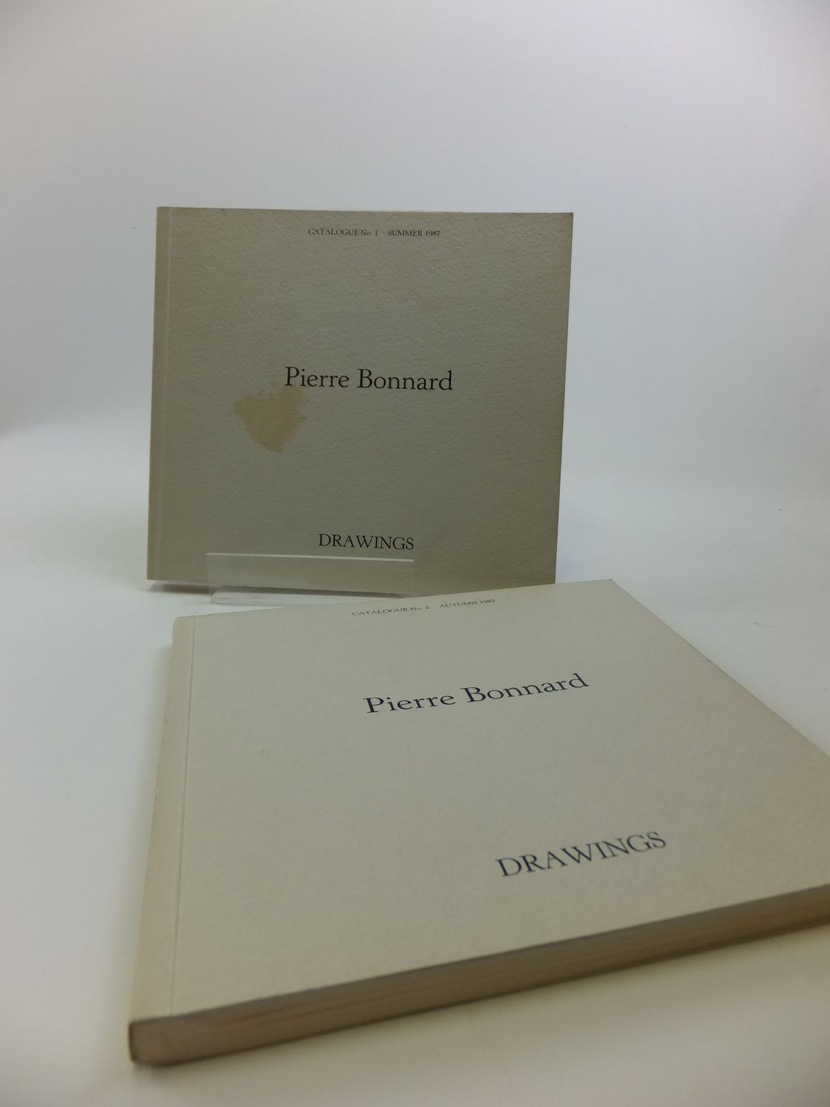 Photo of DRAWINGS PIERRE BONNARD (1867-1947) TWO VOLUMES illustrated by Bonnard, Pierre (STOCK CODE: 1811897)  for sale by Stella & Rose's Books