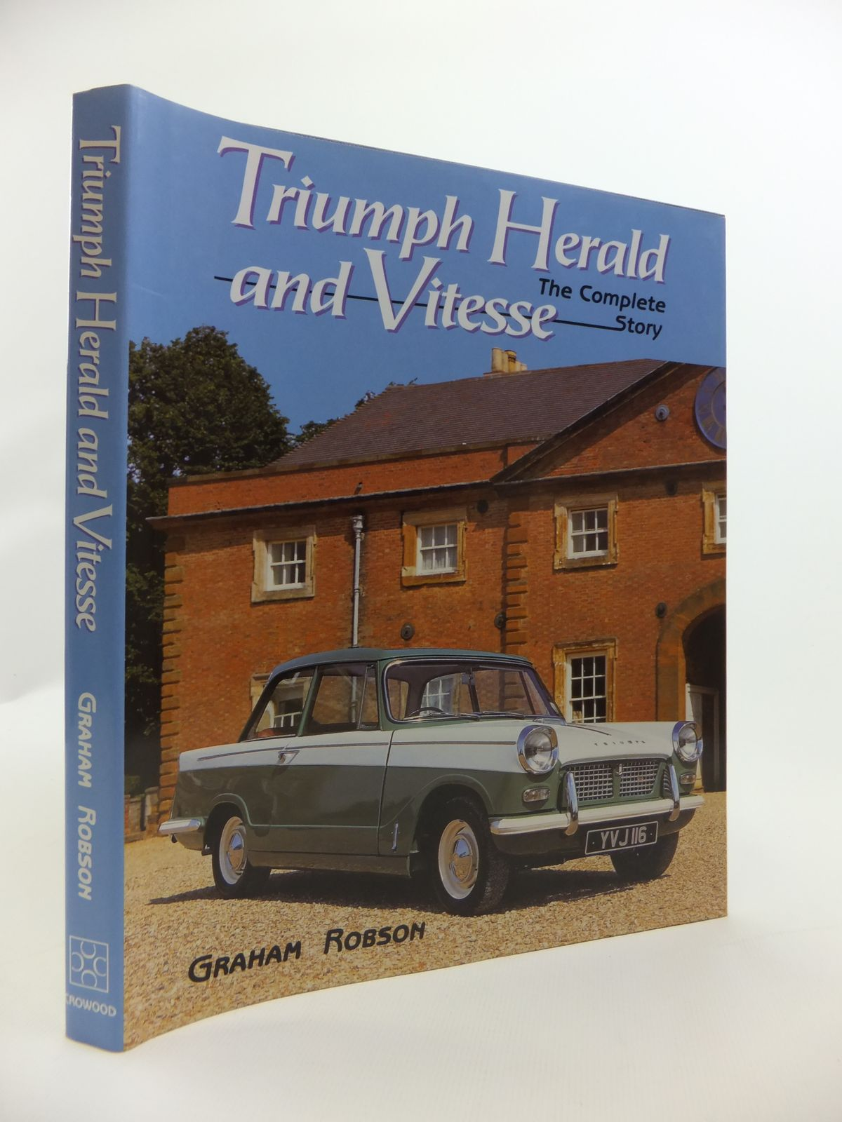 Photo of TRIUMPH HERALD AND VITESSE THE COMPLETE STORY written by Robson, Graham published by Crowood (STOCK CODE: 1811908)  for sale by Stella & Rose's Books