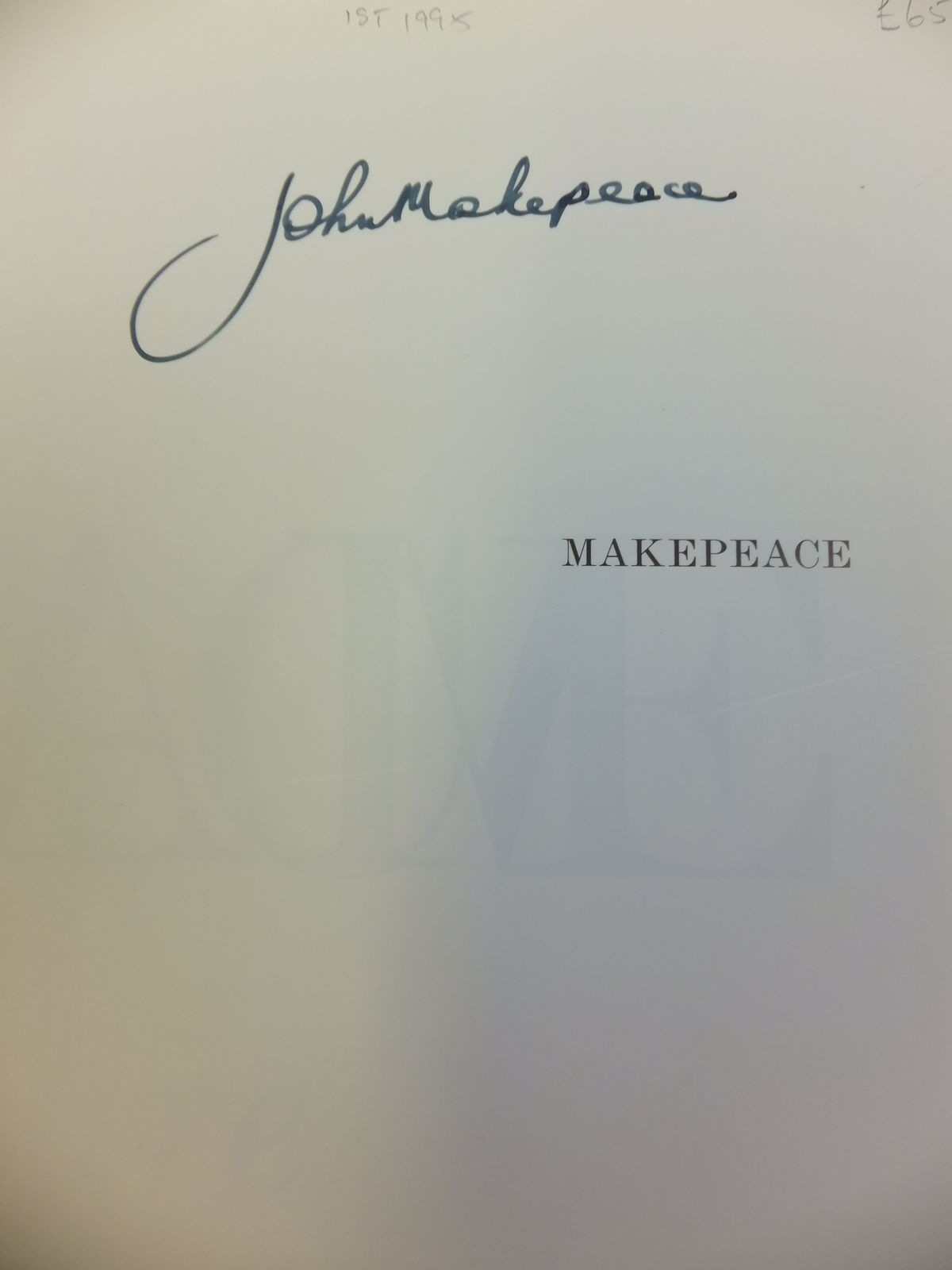 Photo of MAKEPEACE: A SPIRIT OF ADVENTURE IN CRAFT AND DESIGN written by Myerson, Jeremy published by Conran Octopus Limited (STOCK CODE: 1811920)  for sale by Stella & Rose's Books