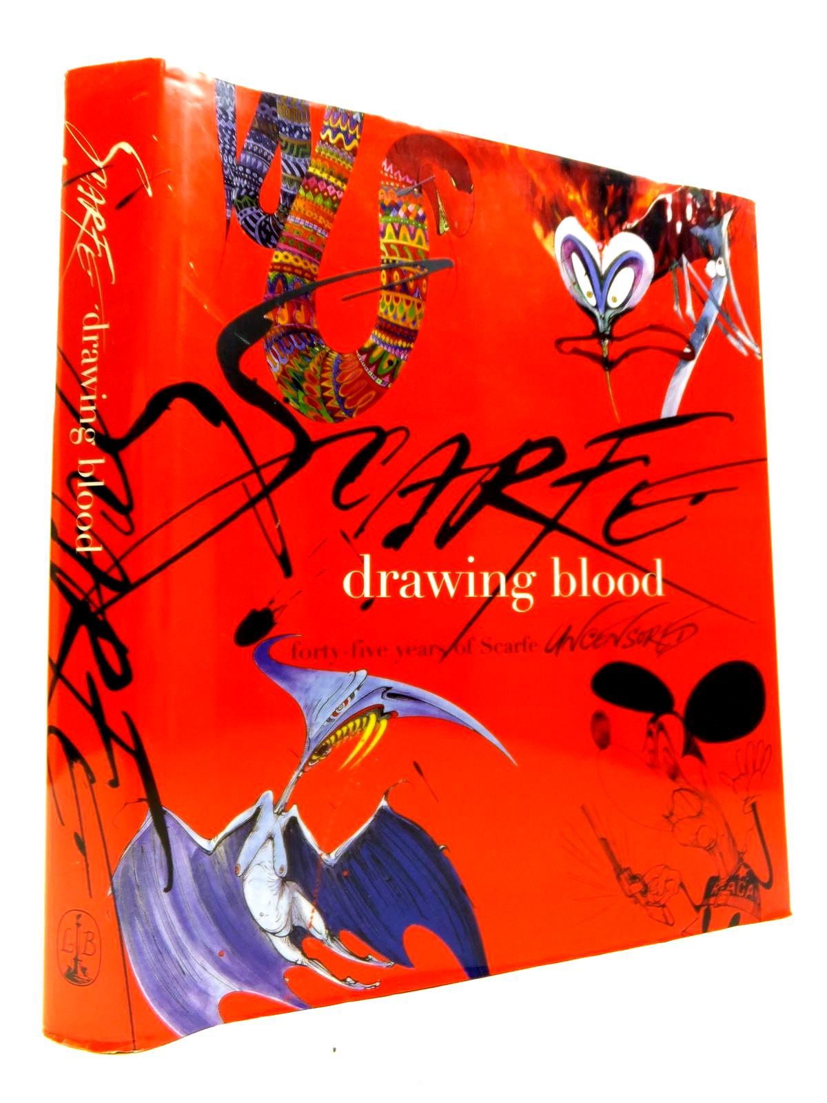 Photo of DRAWING BLOOD: FORTY-FIVE YEARS OF SCARFE UNCENSORED written by Scarfe, Gerald illustrated by Scarfe, Gerald published by Little, Brown (STOCK CODE: 1811932)  for sale by Stella & Rose's Books