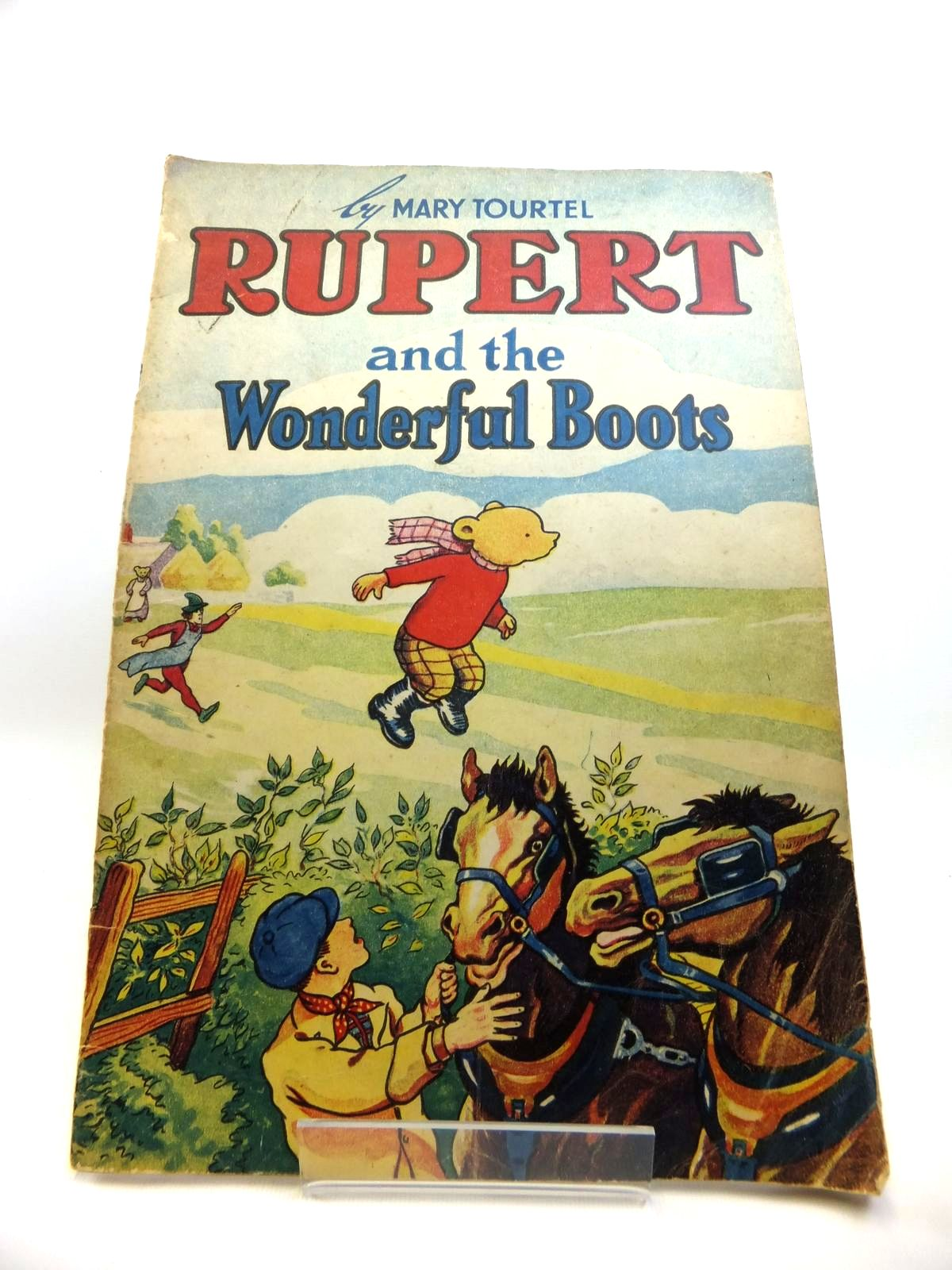 Photo of RUPERT AND THE WONDERFUL BOOTS written by Tourtel, Mary illustrated by Tourtel, Mary published by Sampson Low, Marston & Co. Ltd. (STOCK CODE: 1811957)  for sale by Stella & Rose's Books