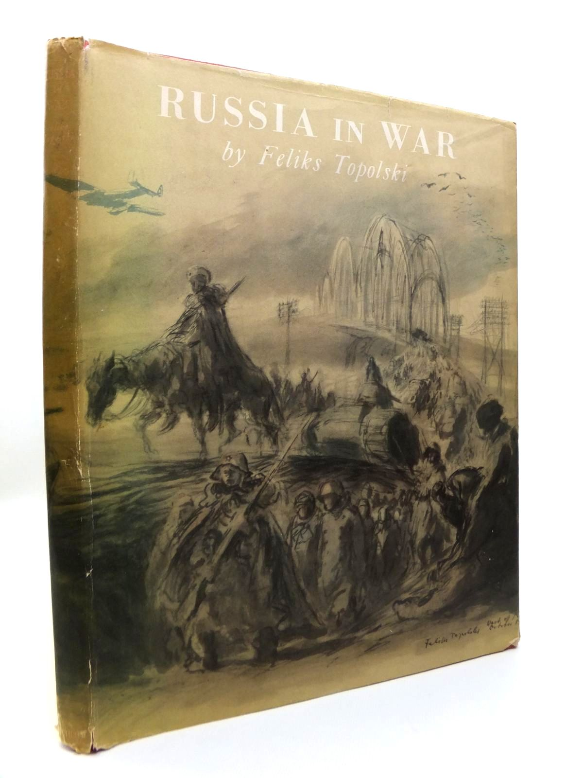 Photo of RUSSIA IN WAR written by Topolski, Feliks illustrated by Topolski, Feliks published by Methuen & Co. Ltd. (STOCK CODE: 1812147)  for sale by Stella & Rose's Books