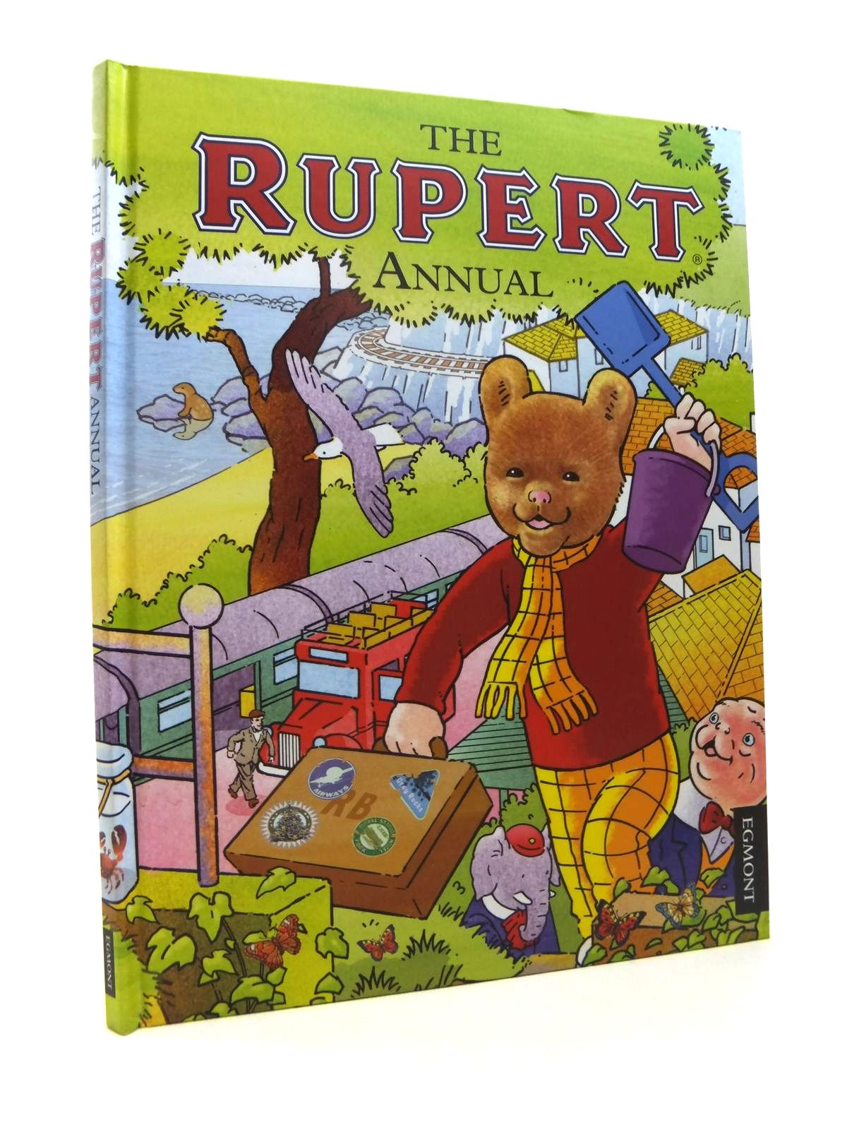 Photo of RUPERT ANNUAL 2012 written by Harwood, Beth<br />Trotter, Stuart illustrated by Trotter, Stuart<br />Bestall, Alfred published by Egmont Uk Limited (STOCK CODE: 1812166)  for sale by Stella & Rose's Books
