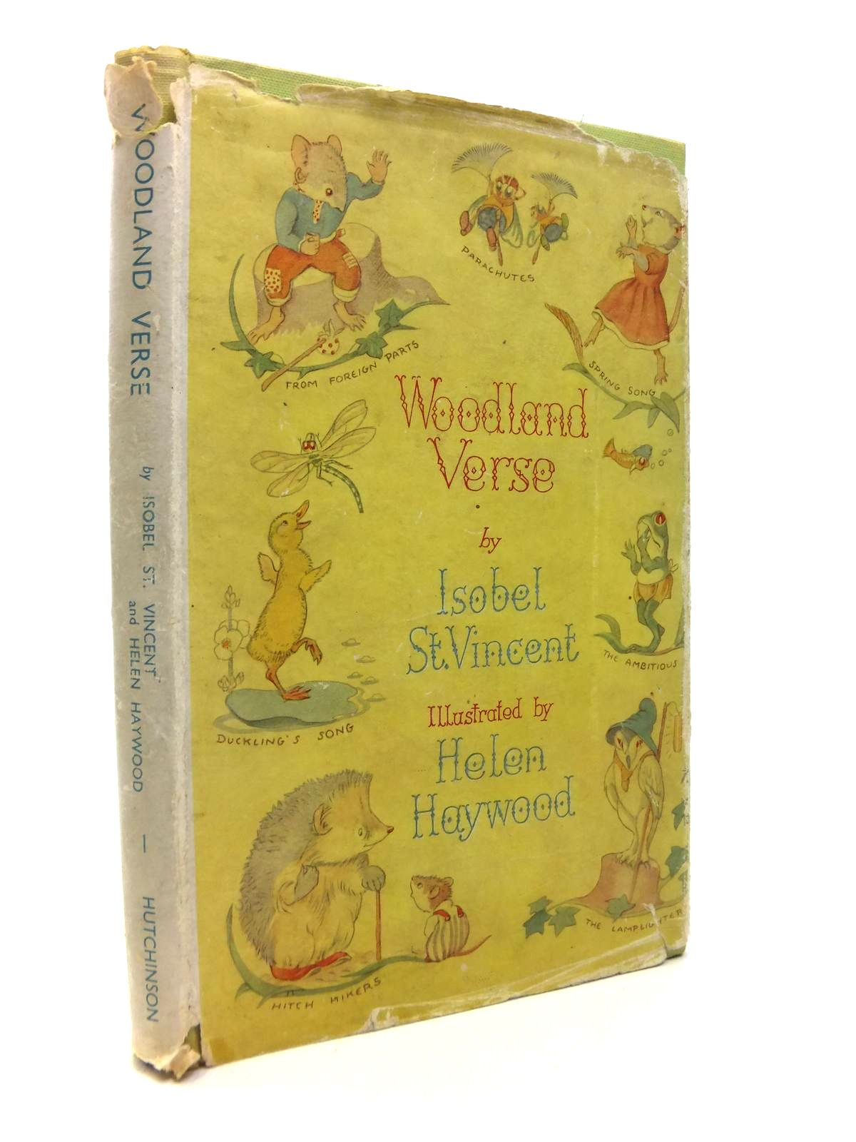 Photo of WOODLAND VERSE written by St. Vincent, Isobel illustrated by Haywood, Helen published by Hutchinson & Co. Ltd (STOCK CODE: 1812200)  for sale by Stella & Rose's Books