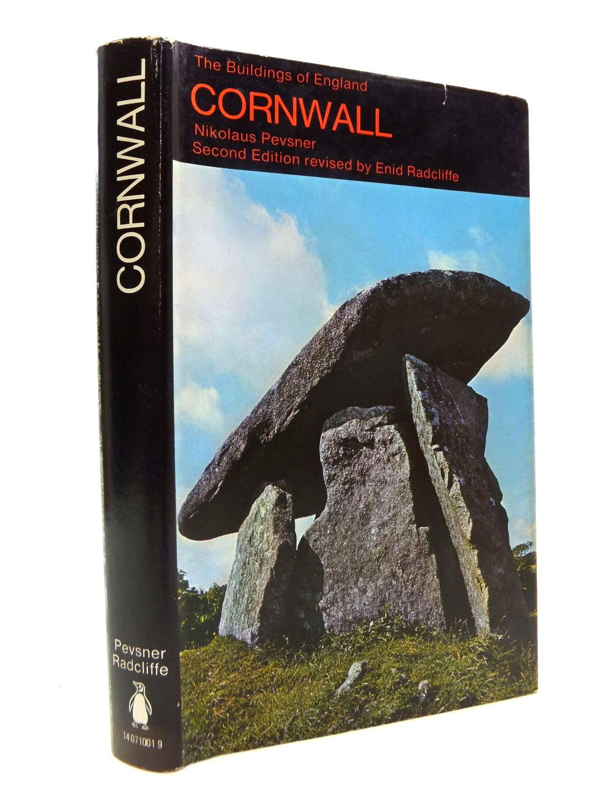 Photo of CORNWALL (BUILDINGS OF ENGLAND) written by Pevsner, Nikolaus<br />Radcliffe, Enid published by Penguin (STOCK CODE: 1812203)  for sale by Stella & Rose's Books