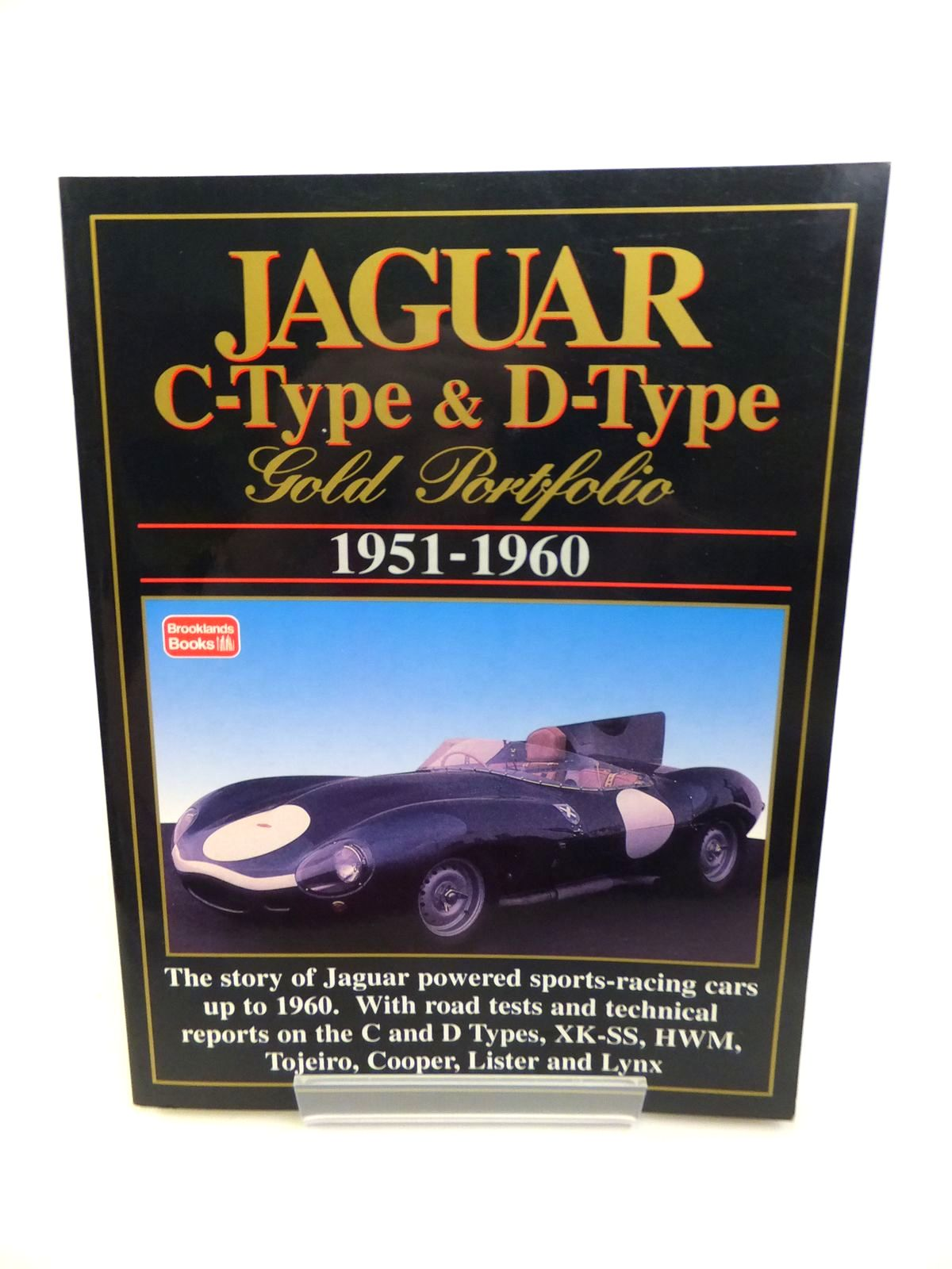 Photo of JAGUAR C-TYPE & D-TYPE GOLD PORTFOLIO 1951-1960 written by Clarke, R.M. published by Brooklands Books (STOCK CODE: 1812243)  for sale by Stella & Rose's Books