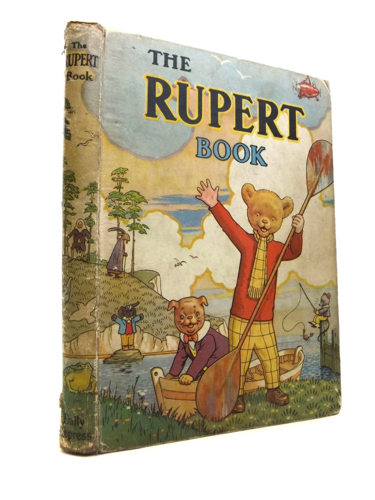 Photo of RUPERT ANNUAL 1941 - THE RUPERT BOOK written by Bestall, Alfred illustrated by Bestall, Alfred published by Daily Express (STOCK CODE: 1812260)  for sale by Stella & Rose's Books