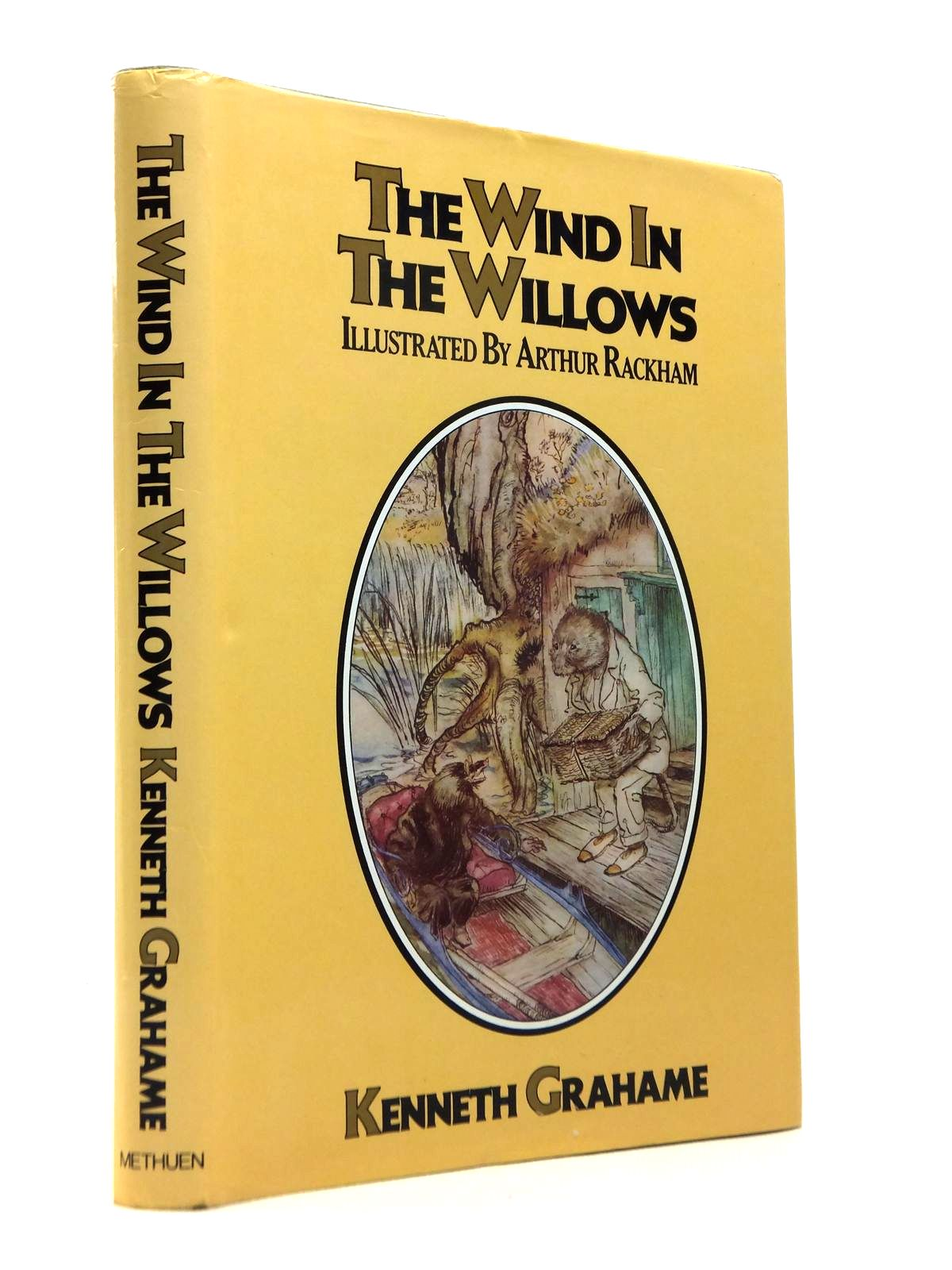 Photo of THE WIND IN THE WILLOWS written by Grahame, Kenneth illustrated by Rackham, Arthur published by Methuen Children's Books (STOCK CODE: 1812288)  for sale by Stella & Rose's Books
