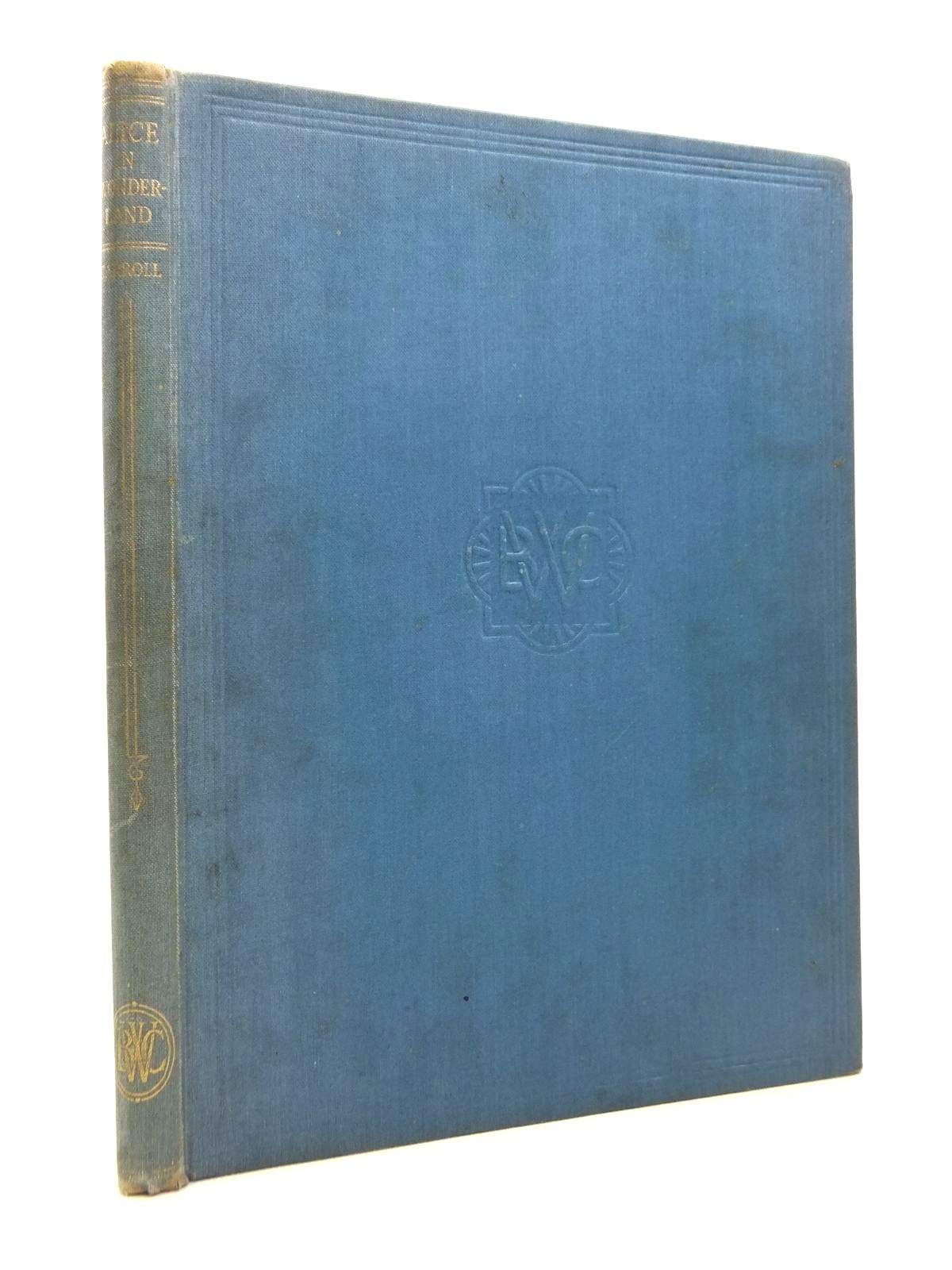 Photo of ALICE IN WONDERLAND written by Carroll, Lewis illustrated by Cloke, Rene published by The Waverley Book Company Ltd. (STOCK CODE: 1812297)  for sale by Stella & Rose's Books