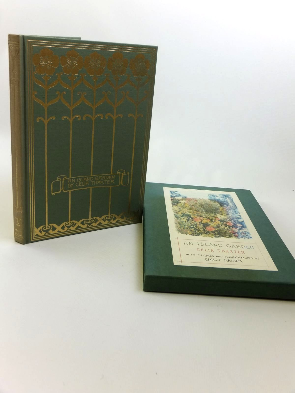 Photo of AN ISLAND GARDEN written by Thaxter, Celia illustrated by Hassam, Childe published by Cassell (STOCK CODE: 1812375)  for sale by Stella & Rose's Books
