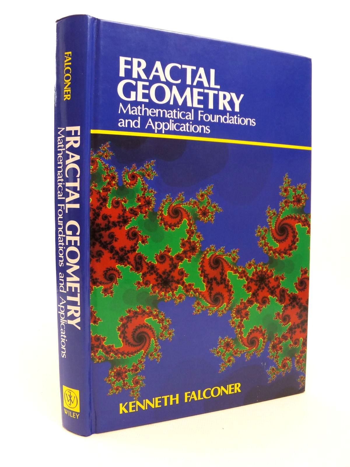 Photo of FRACTAL GEOMETRY: MATHEMATICAL FOUNDATIONS AND APPLICATIONS written by Falconer, Kenneth published by John Wiley & Sons (STOCK CODE: 1812436)  for sale by Stella & Rose's Books