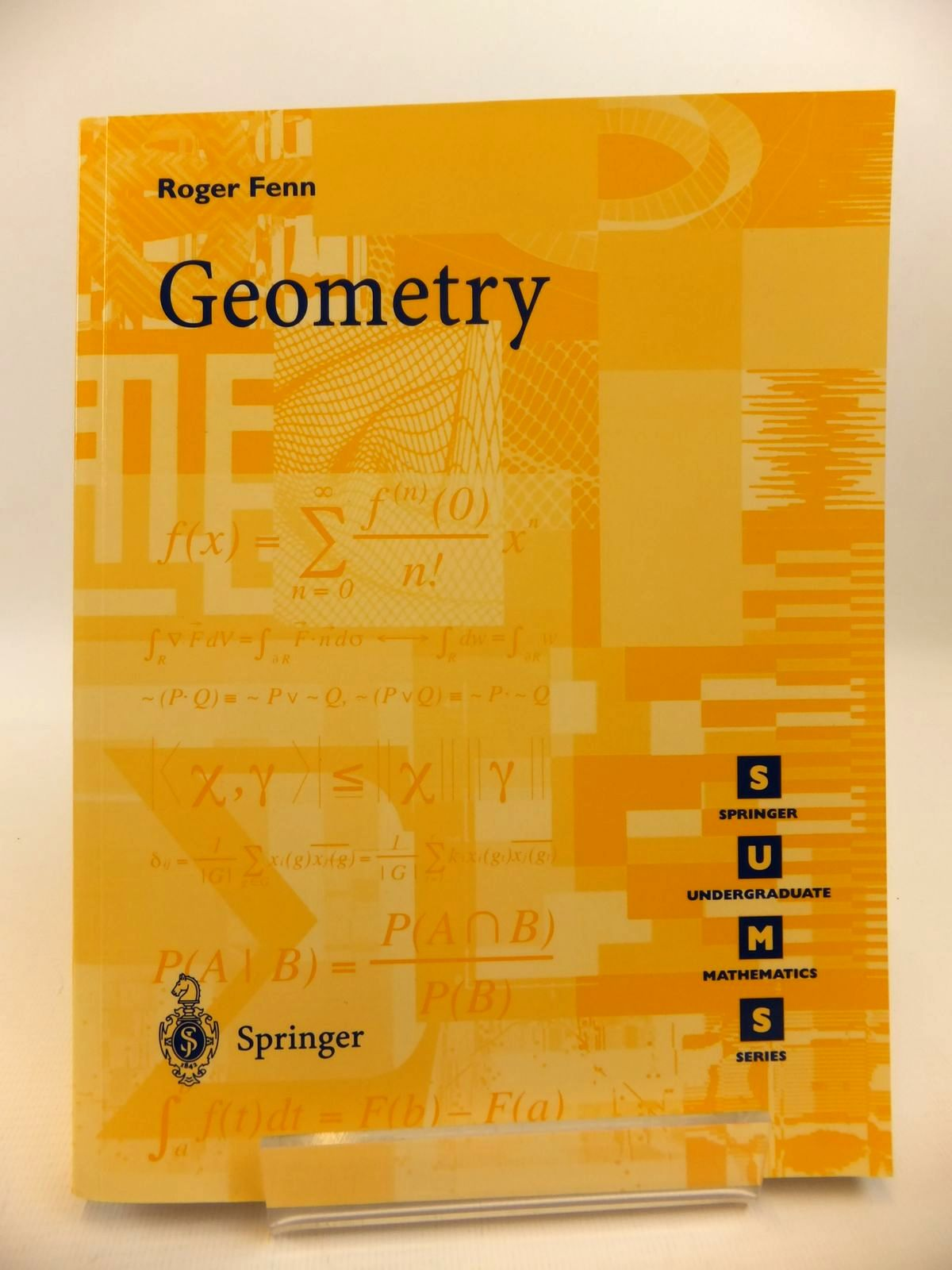 Photo of GEOMETRY written by Fenn, Roger published by Springer (STOCK CODE: 1812446)  for sale by Stella & Rose's Books