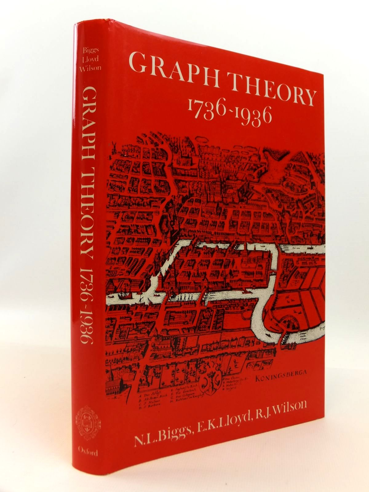 Photo of GRAPH THEORY 1736-1936 written by Biggs, Norman L.<br />Lloyd, E. Keith<br />Wilson, Robin J. published by Clarendon Press (STOCK CODE: 1812461)  for sale by Stella & Rose's Books