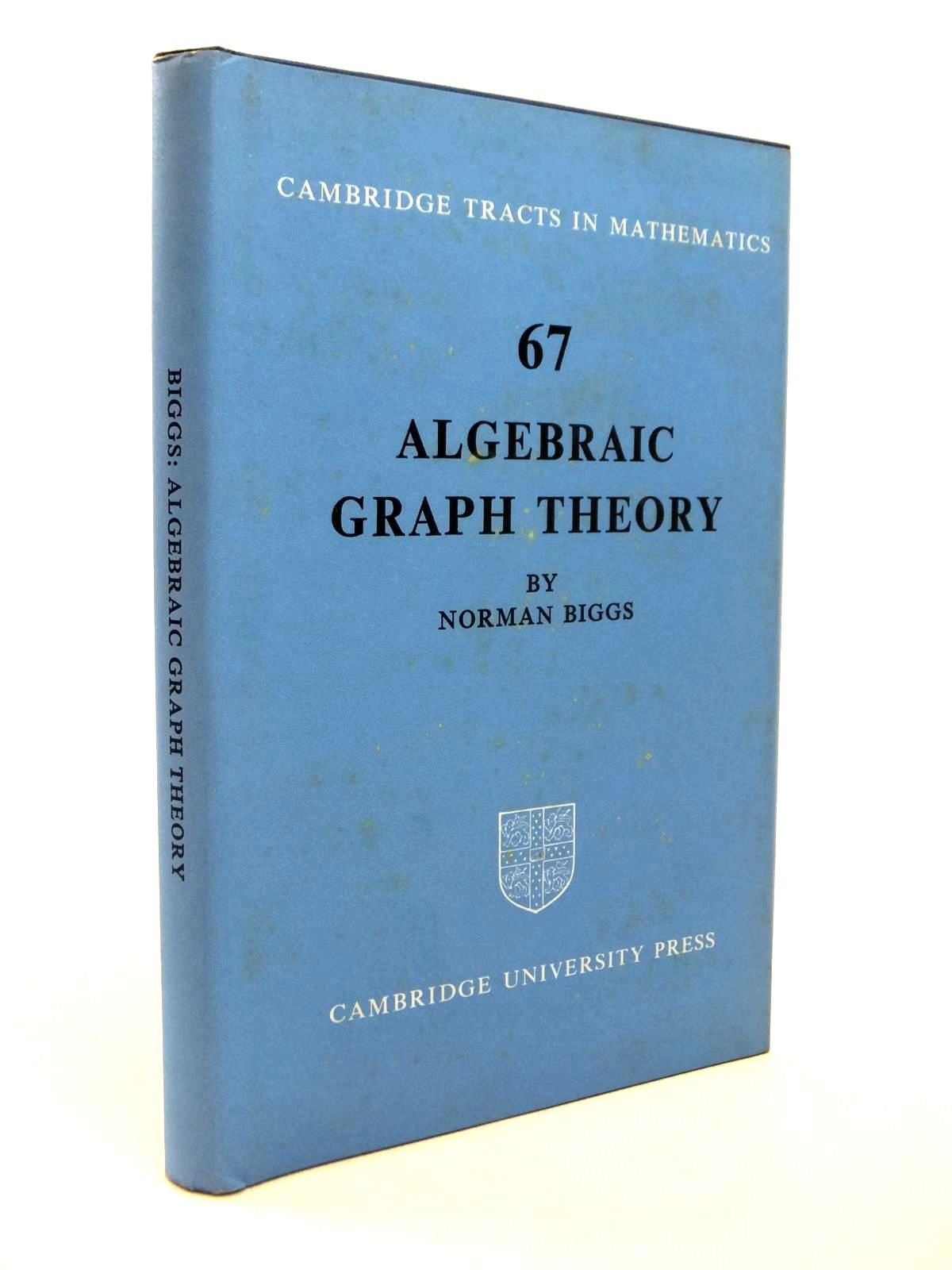 Photo of ALGEBRAIC GRAPH THEORY written by Biggs, Norman published by Cambridge University Press (STOCK CODE: 1812490)  for sale by Stella & Rose's Books