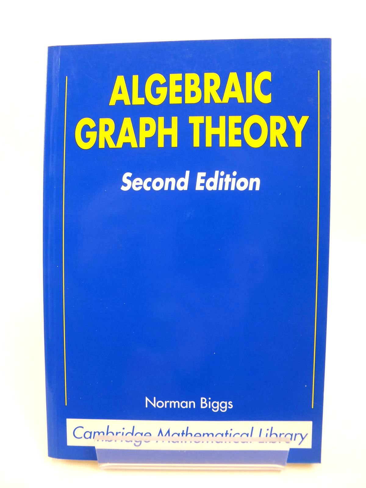 Photo of ALGEBRAIC GRAPH THEORY written by Biggs, Norman published by Cambridge University Press (STOCK CODE: 1812493)  for sale by Stella & Rose's Books