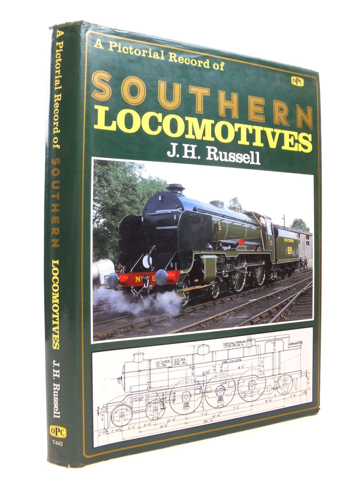 Photo of A PICTORIAL RECORD OF SOUTHERN LOCOMOTIVES written by Russell, J.H. published by Haynes, Oxford Publishing Co (STOCK CODE: 1812548)  for sale by Stella & Rose's Books