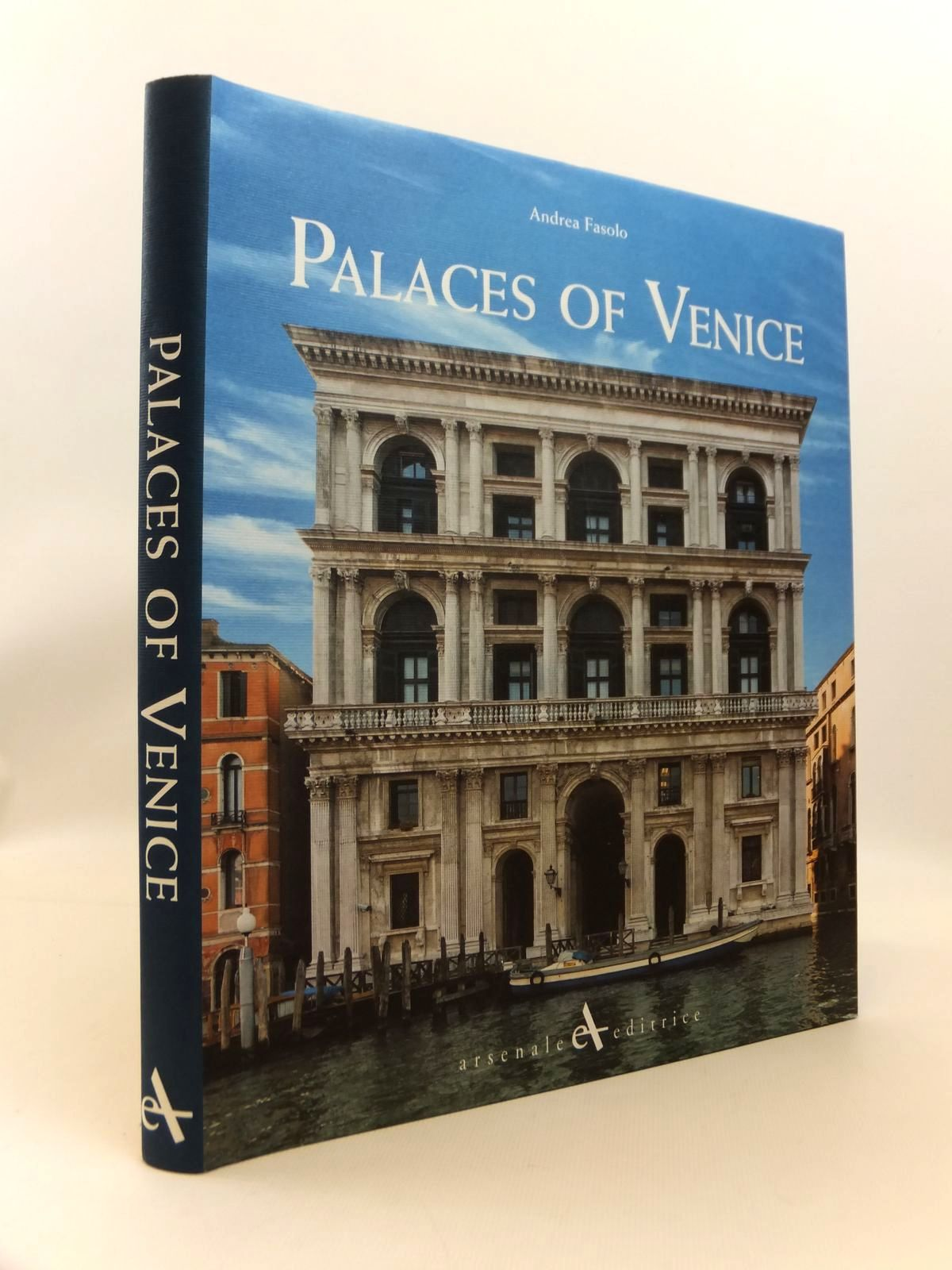 Photo of PALACES OF VENICE written by Fasolo, Andrea published by Arsenale-Editrice (STOCK CODE: 1812572)  for sale by Stella & Rose's Books