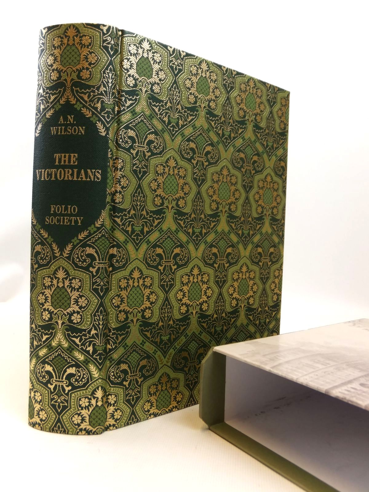 Photo of THE VICTORIANS written by Wilson, A.N. published by Folio Society (STOCK CODE: 1812595)  for sale by Stella & Rose's Books
