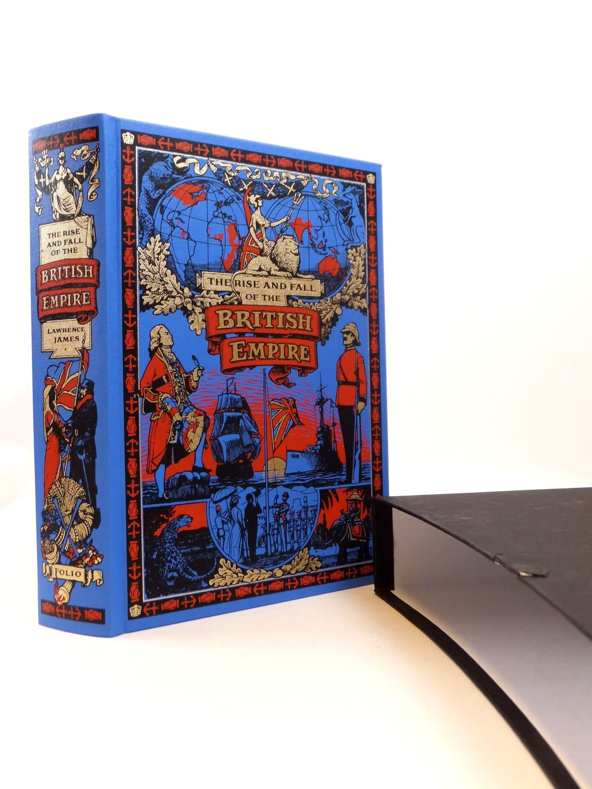 Photo of THE RISE AND FALL OF THE BRITISH EMPIRE written by James, Lawrence published by Folio Society (STOCK CODE: 1812596)  for sale by Stella & Rose's Books
