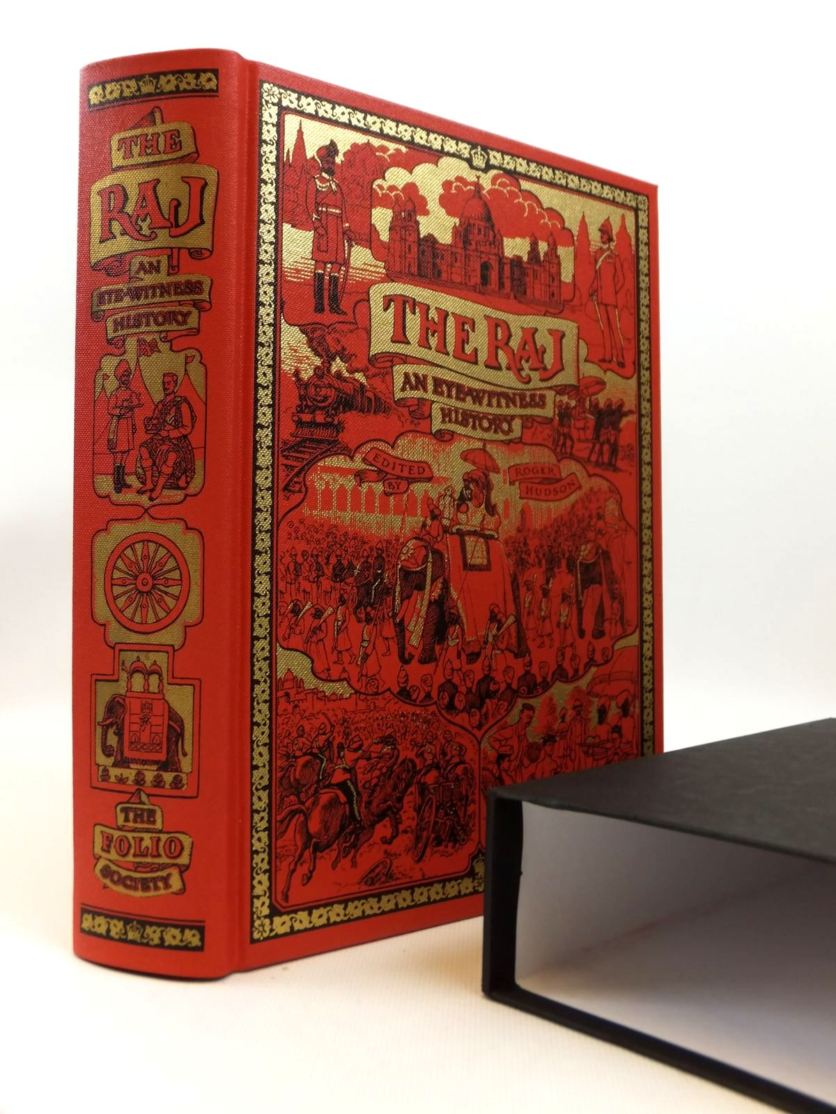 Photo of THE RAJ written by Hudson, Roger published by Folio Society (STOCK CODE: 1812600)  for sale by Stella & Rose's Books