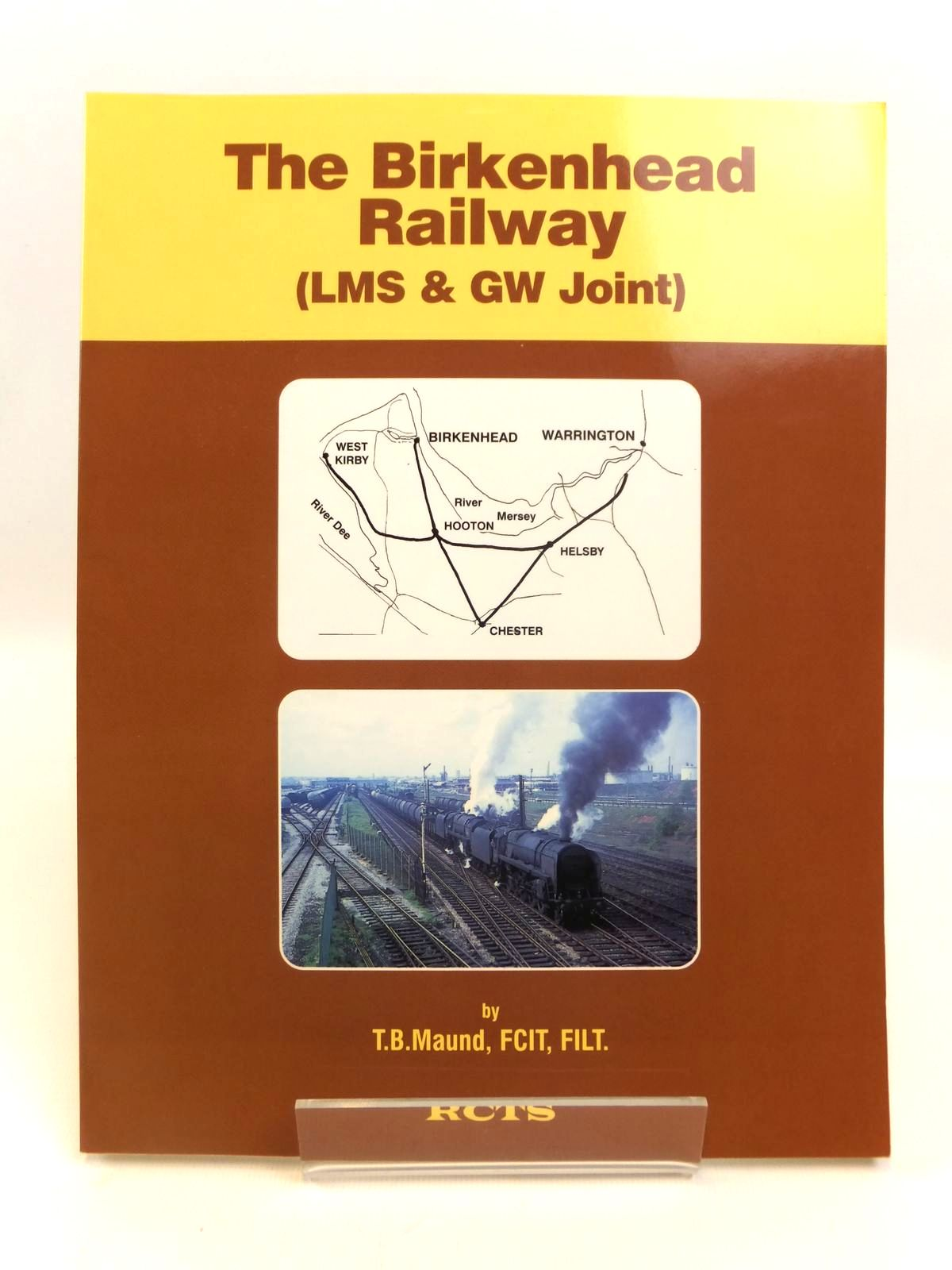 Photo of THE BIRKENHEAD RAILWAY (LMS & GW JOINT) written by Maund, T.B. published by The Railway Correspondence And Travel Society (STOCK CODE: 1812615)  for sale by Stella & Rose's Books