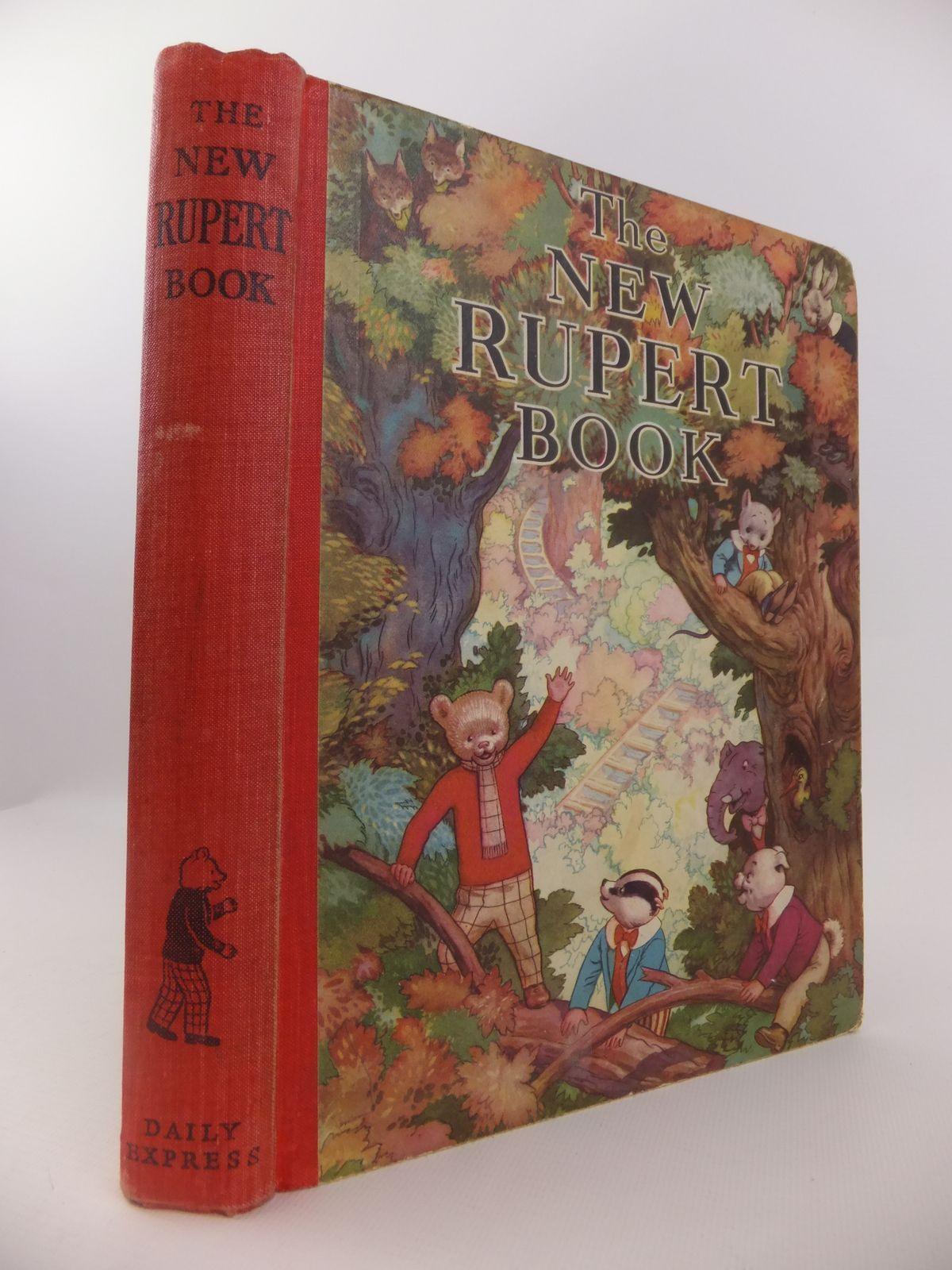 Photo of RUPERT ANNUAL 1938 - THE NEW RUPERT BOOK- Stock Number: 1812692