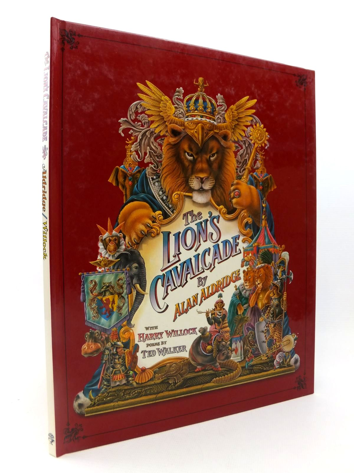 Photo of THE LION'S CAVALCADE written by Walker, Ted illustrated by Aldridge, Alan<br />Willock, Harry published by Jonathan Cape (STOCK CODE: 1812710)  for sale by Stella & Rose's Books