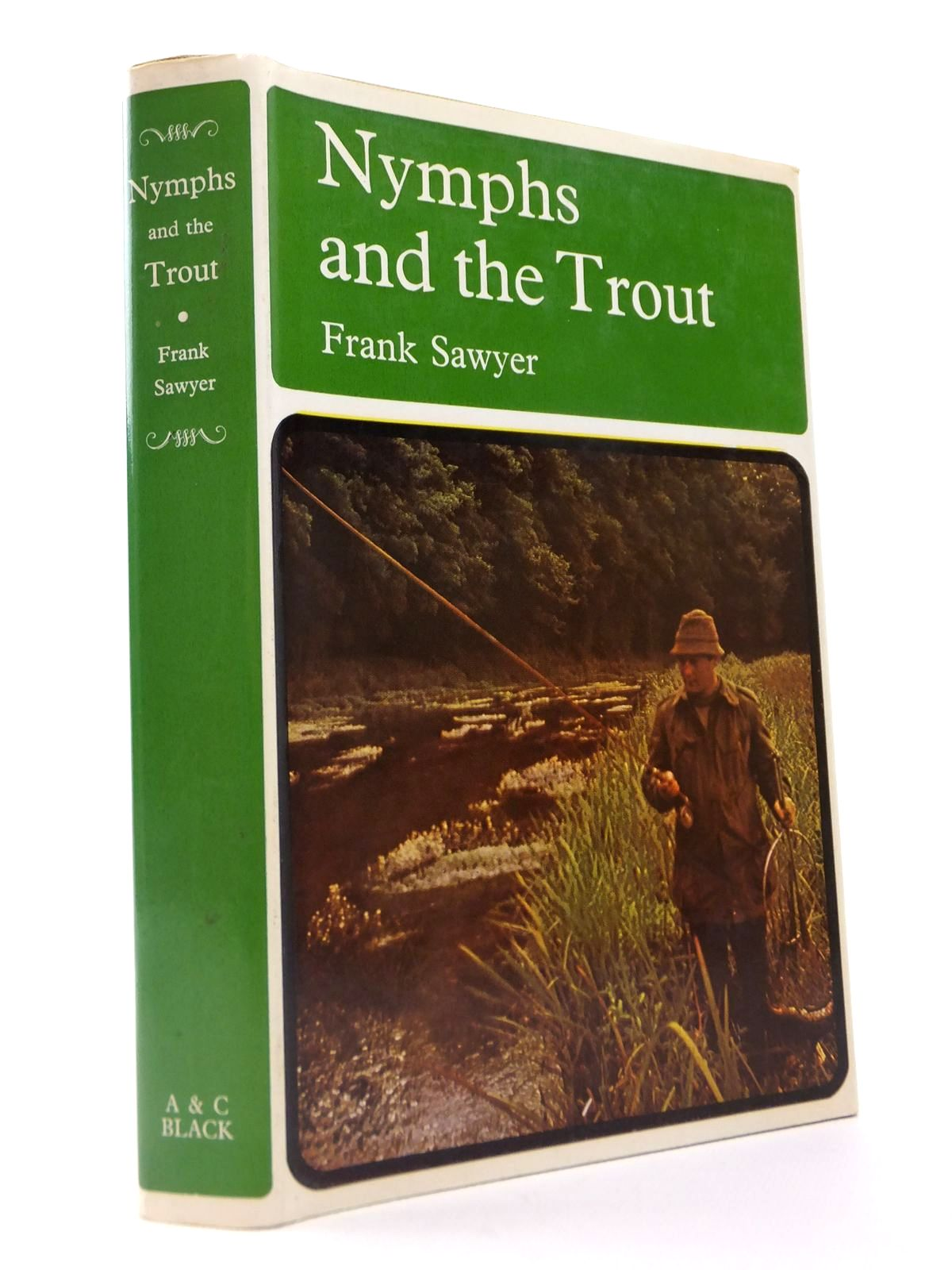 Photo of NYMPHS AND THE TROUT written by Sawyer, Frank published by Adam & Charles Black (STOCK CODE: 1812741)  for sale by Stella & Rose's Books