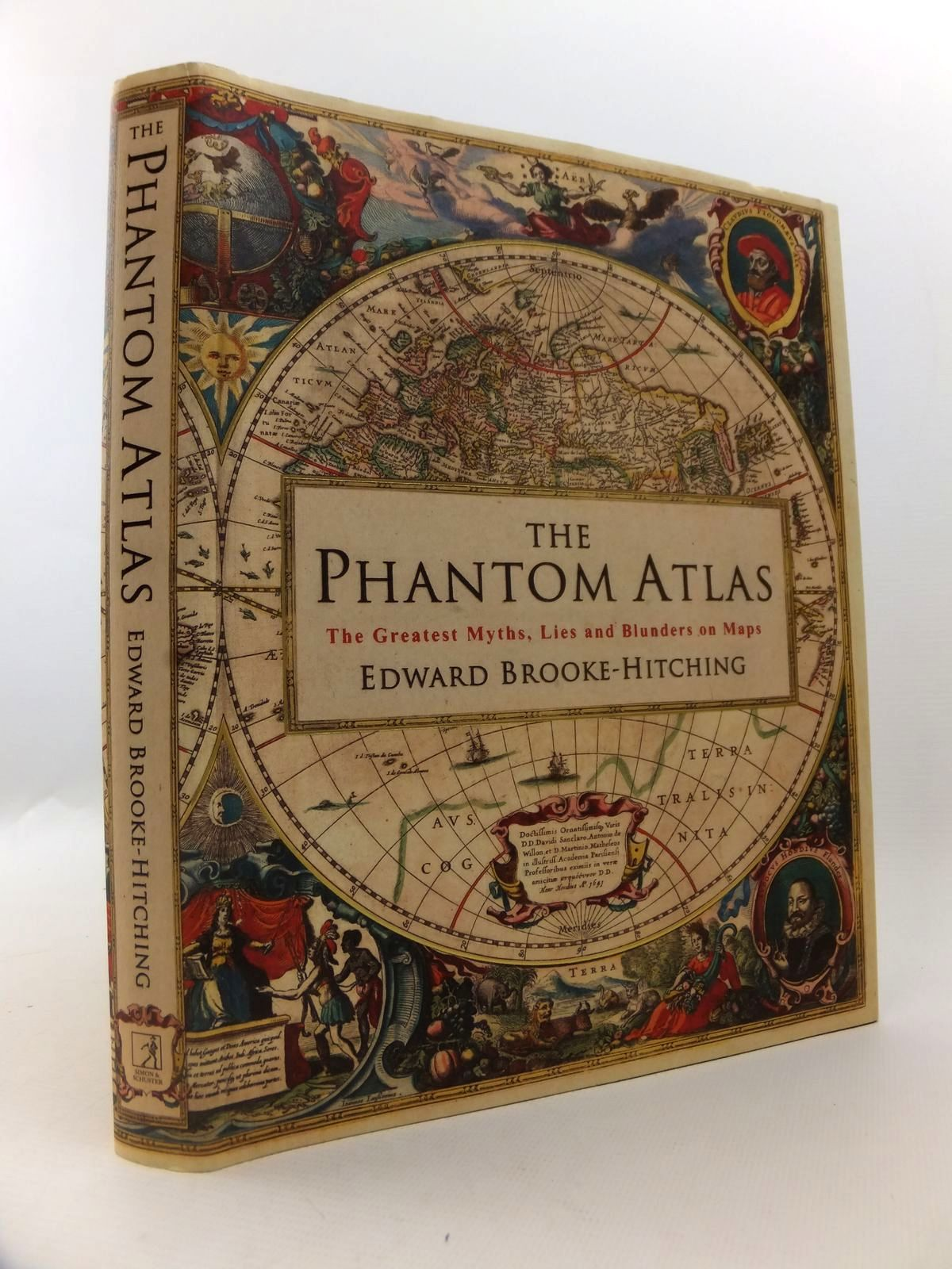 Photo of THE PHANTOM ATLAS THE GREATEST MYTHS, LIES AND BLUNDERS ON MAPS written by Brooke-Hitching, Edward published by Simon & Schuster (STOCK CODE: 1812798)  for sale by Stella & Rose's Books