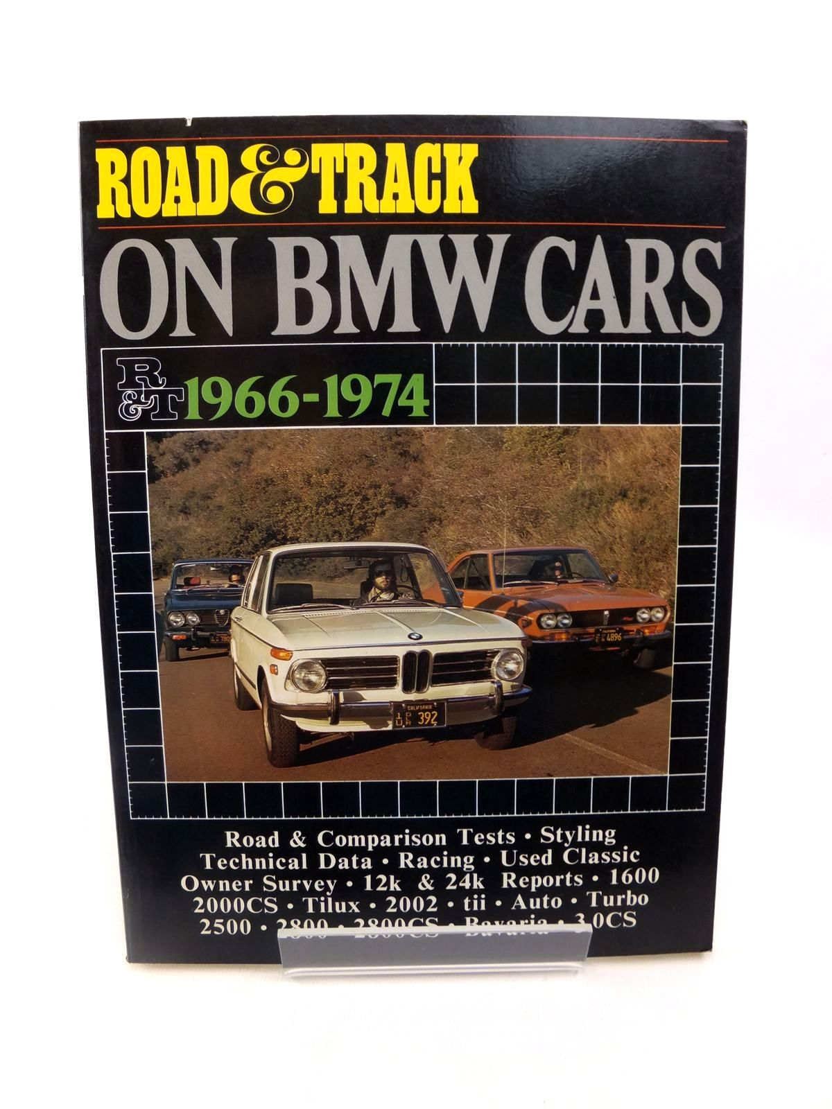 Photo of ROAD & TRACK ON BMW CARS 1966-1974 published by Brooklands Books (STOCK CODE: 1812799)  for sale by Stella & Rose's Books
