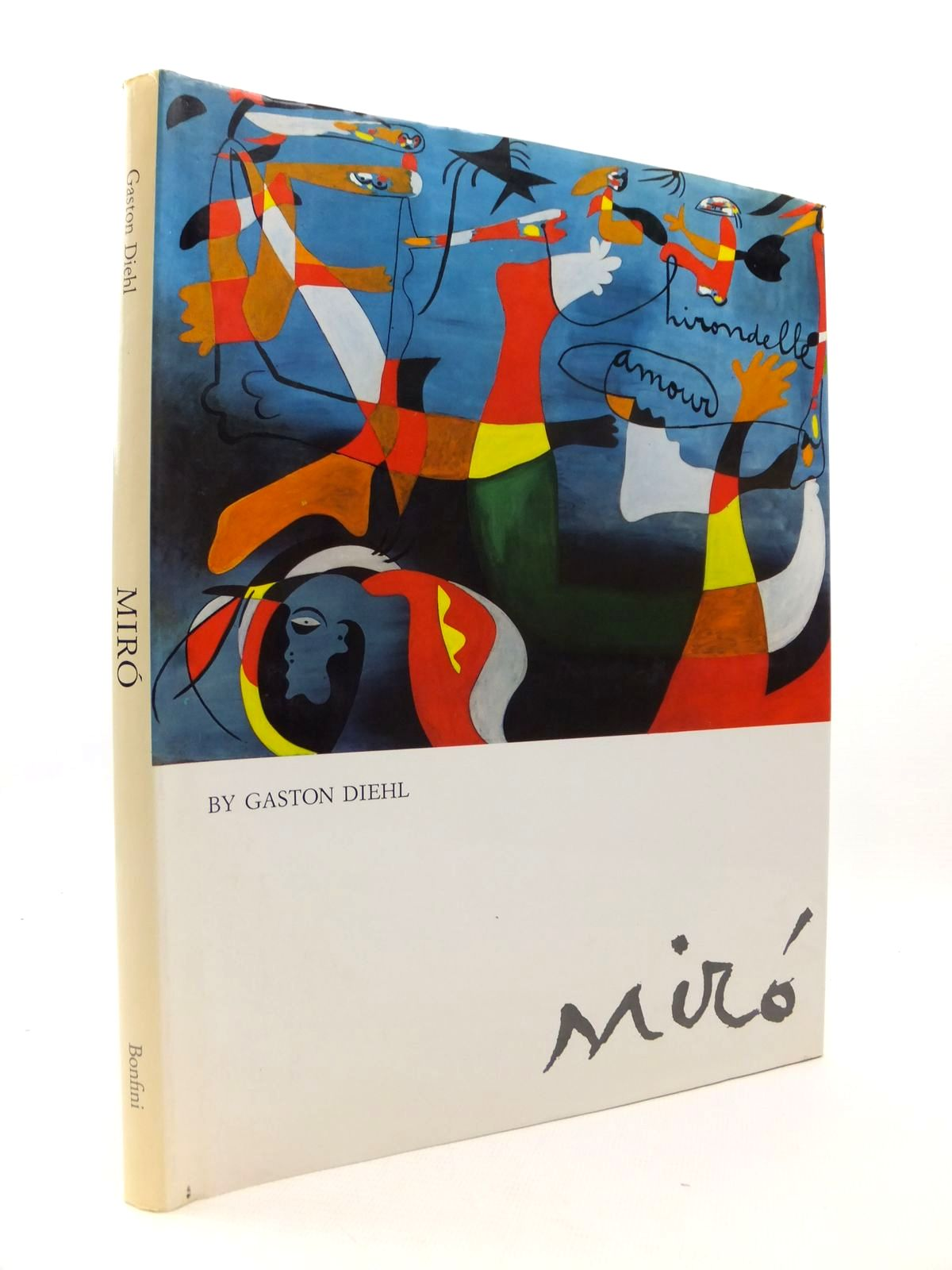 Photo of MIRO written by Diehl, Gaston illustrated by Miro, published by Bonfini Press (STOCK CODE: 1812809)  for sale by Stella & Rose's Books