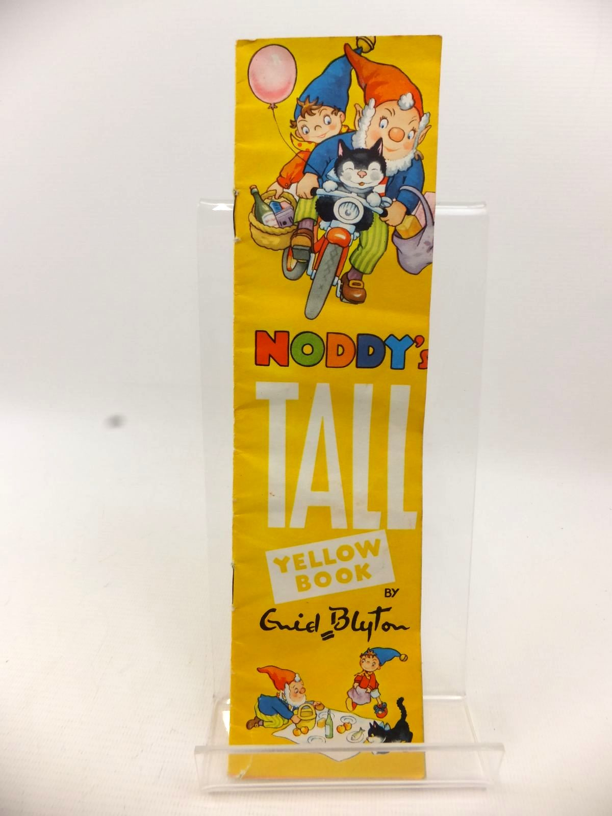 Photo of NODDY'S TALL YELLOW BOOK written by Blyton, Enid illustrated by Tyndall, Robert published by Sampson Low, Marston & Co. Ltd. (STOCK CODE: 1812851)  for sale by Stella & Rose's Books