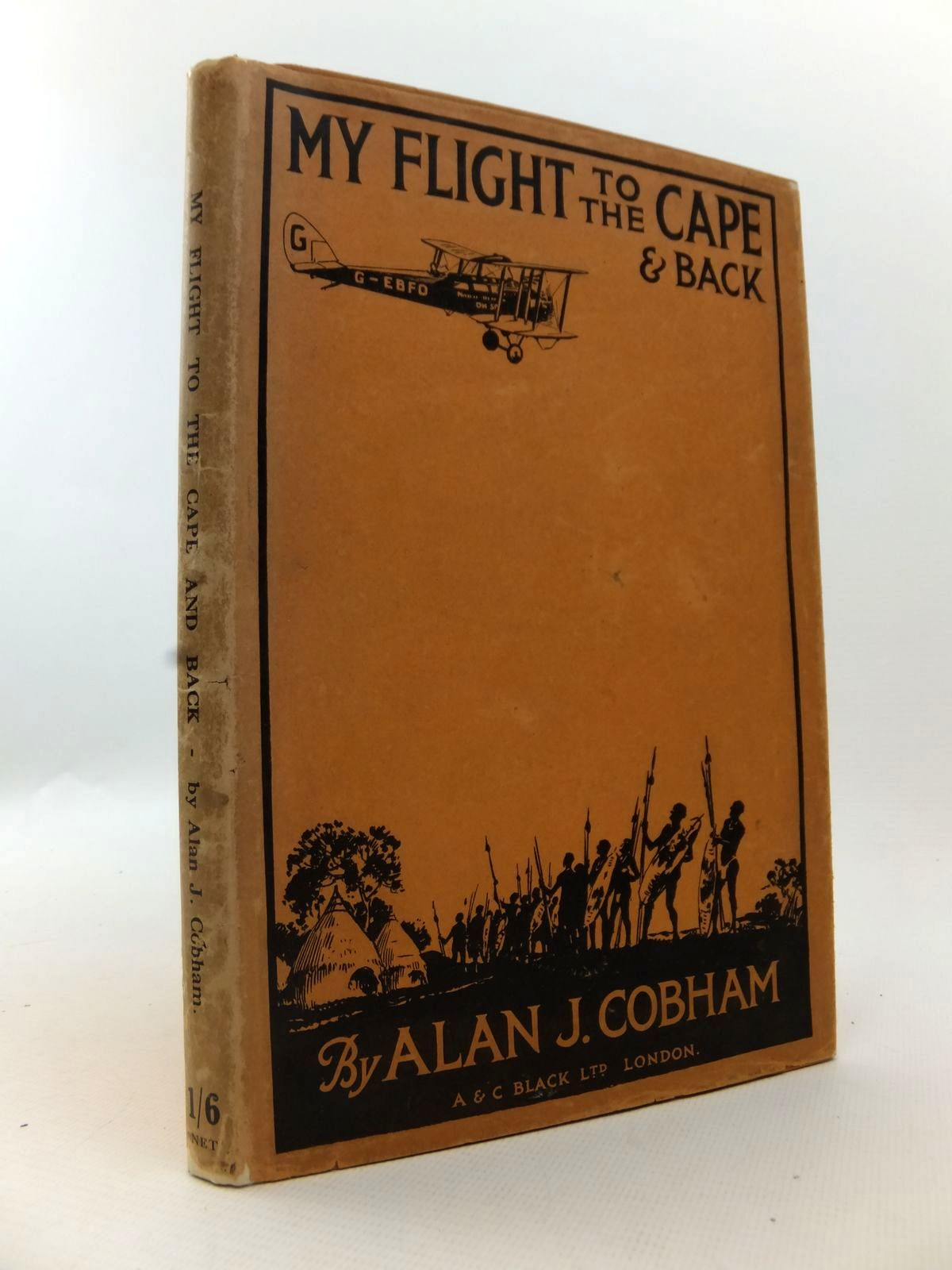 Photo of MY FLIGHT TO THE CAPE AND BACK written by Cobham, Alan published by A. & C. Black Ltd. (STOCK CODE: 1812886)  for sale by Stella & Rose's Books