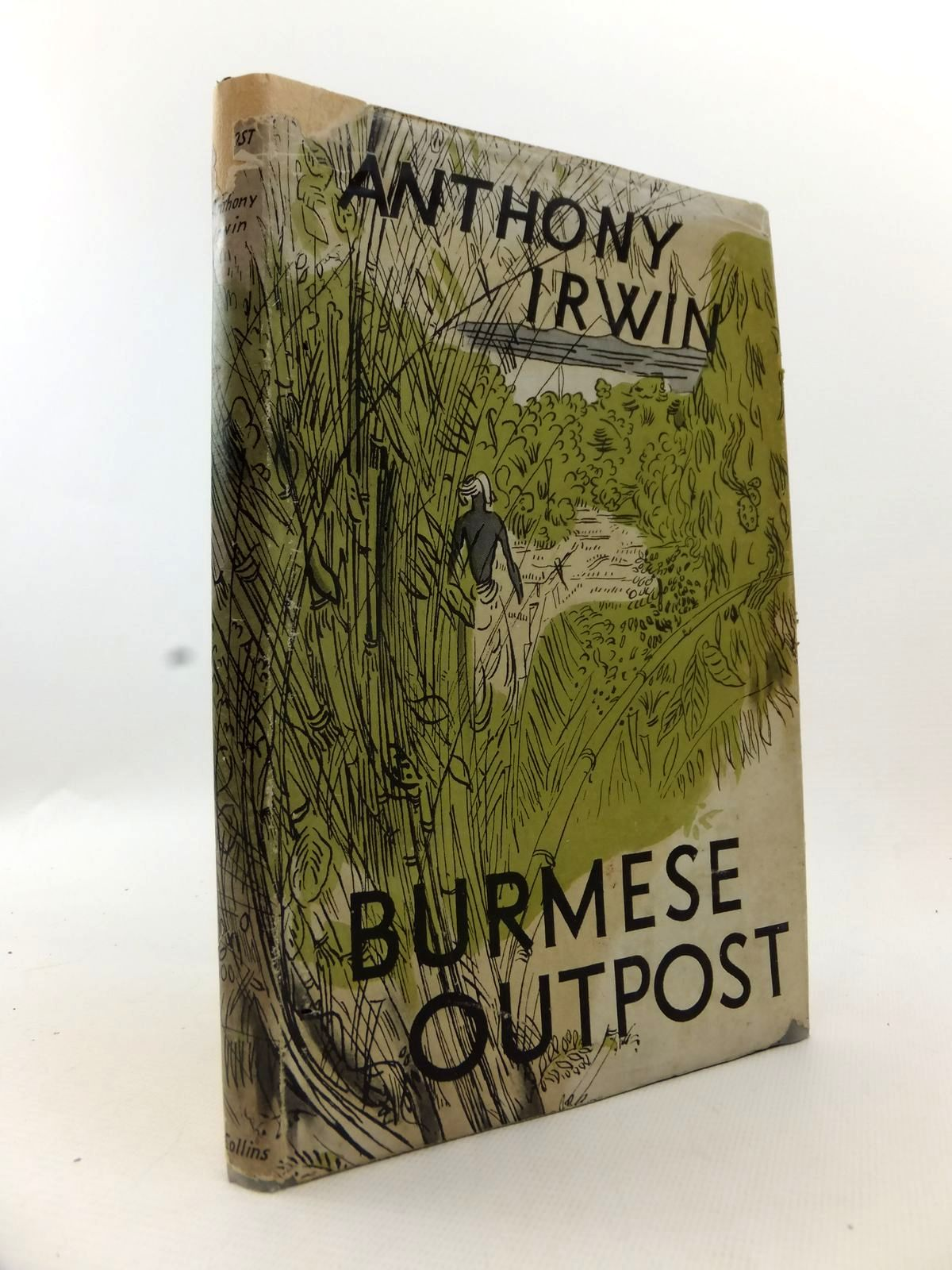 Photo of BURMESE OUTPOST written by Irwin, Anthony published by Collins (STOCK CODE: 1812889)  for sale by Stella & Rose's Books