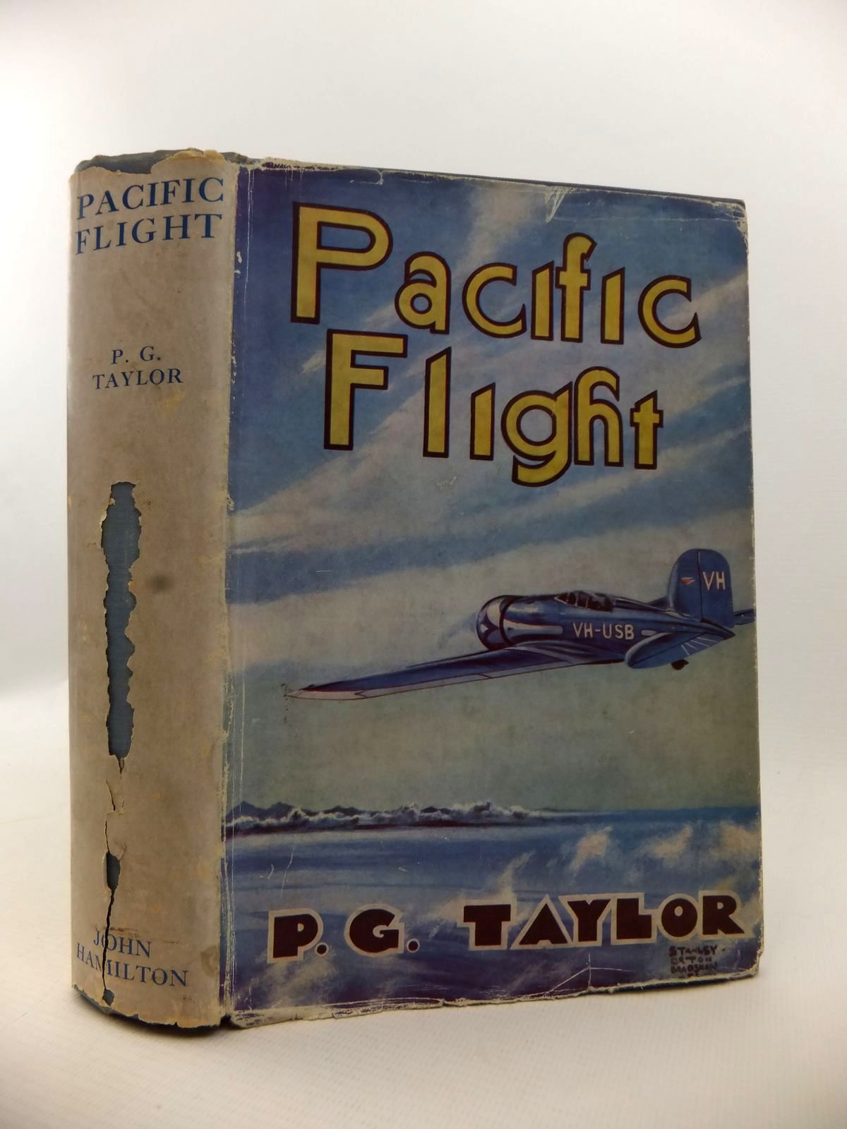 Photo of PACIFIC FLIGHT: THE STORY OF THE LADY SOUTHERN CROSS written by Taylor, P.G. published by John Hamilton Ltd. (STOCK CODE: 1812910)  for sale by Stella & Rose's Books