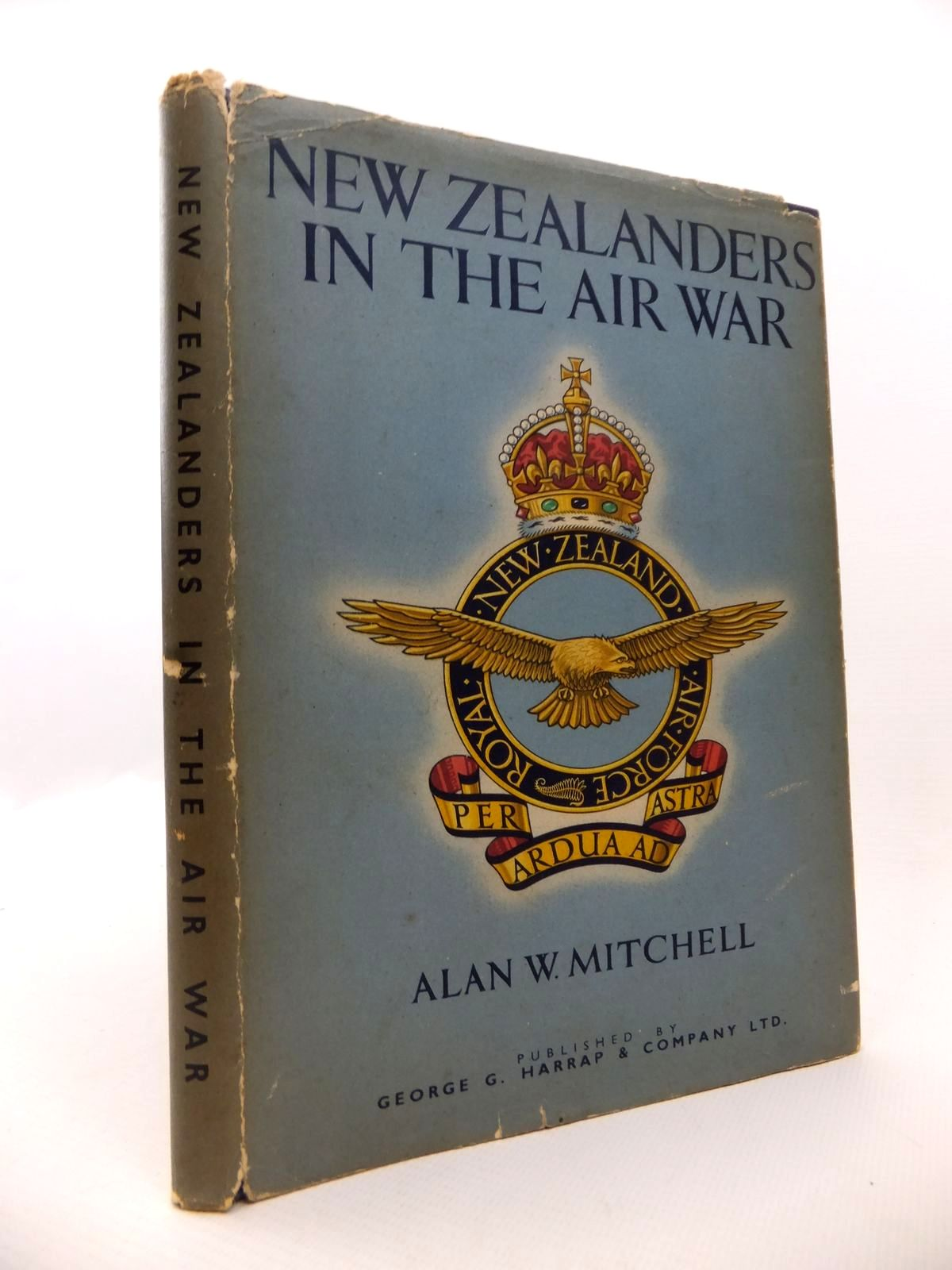 Photo of NEW ZEALANDERS IN THE AIR WAR written by Mitchell, Alan W. published by George G. Harrap & Co. Ltd. (STOCK CODE: 1812918)  for sale by Stella & Rose's Books