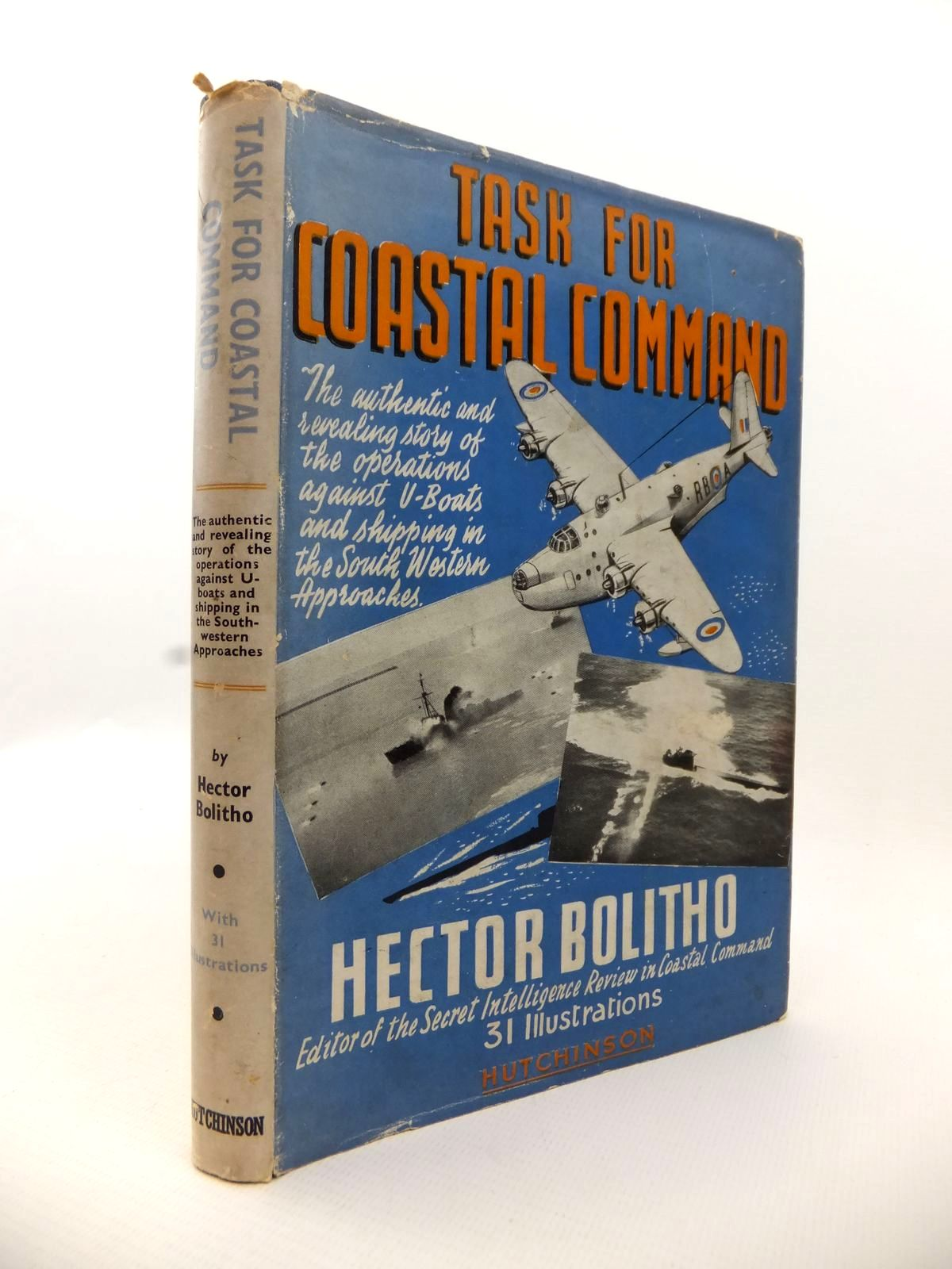 Photo of TASK FOR COASTAL COMMAND written by Bolitho, Hector published by Hutchinson & Co. Ltd (STOCK CODE: 1812937)  for sale by Stella & Rose's Books