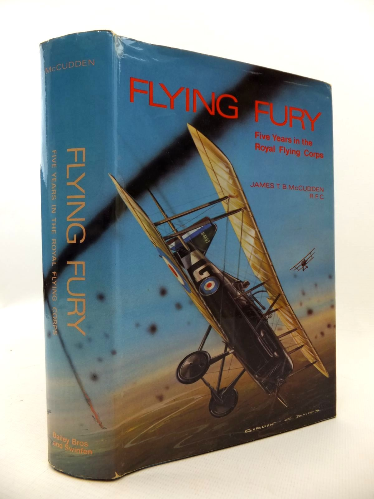 Photo of FLYING FURY FIVE YEARS IN THE ROYAL FLYING CORPS written by McCudden, James T.B.<br />Ulanoff, Stanley M. published by Bailey Brothers and Swinfen Ltd. (STOCK CODE: 1812941)  for sale by Stella & Rose's Books