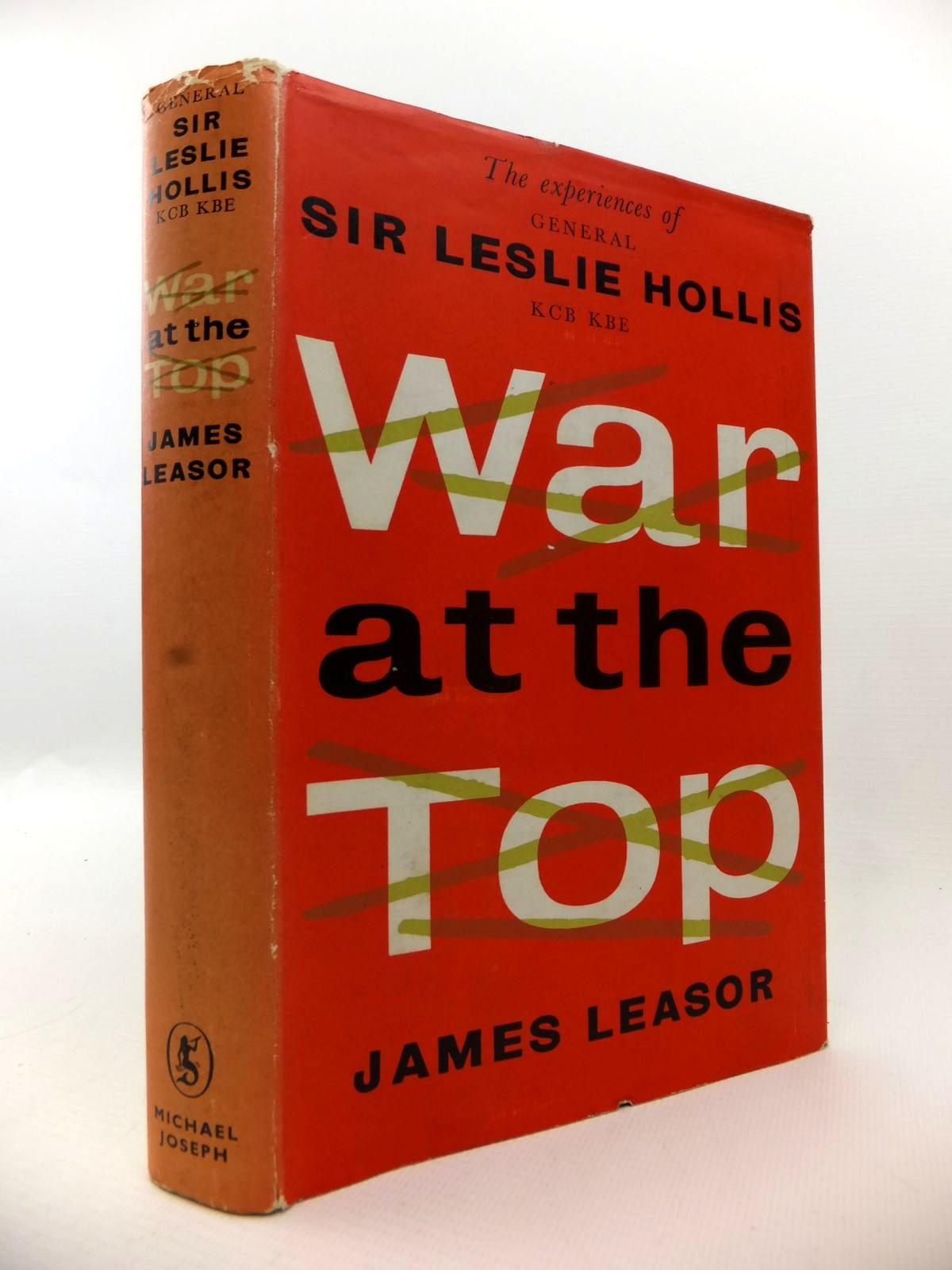 Photo of WAR AT THE TOP written by Leasor, James published by Michael Joseph (STOCK CODE: 1812947)  for sale by Stella & Rose's Books