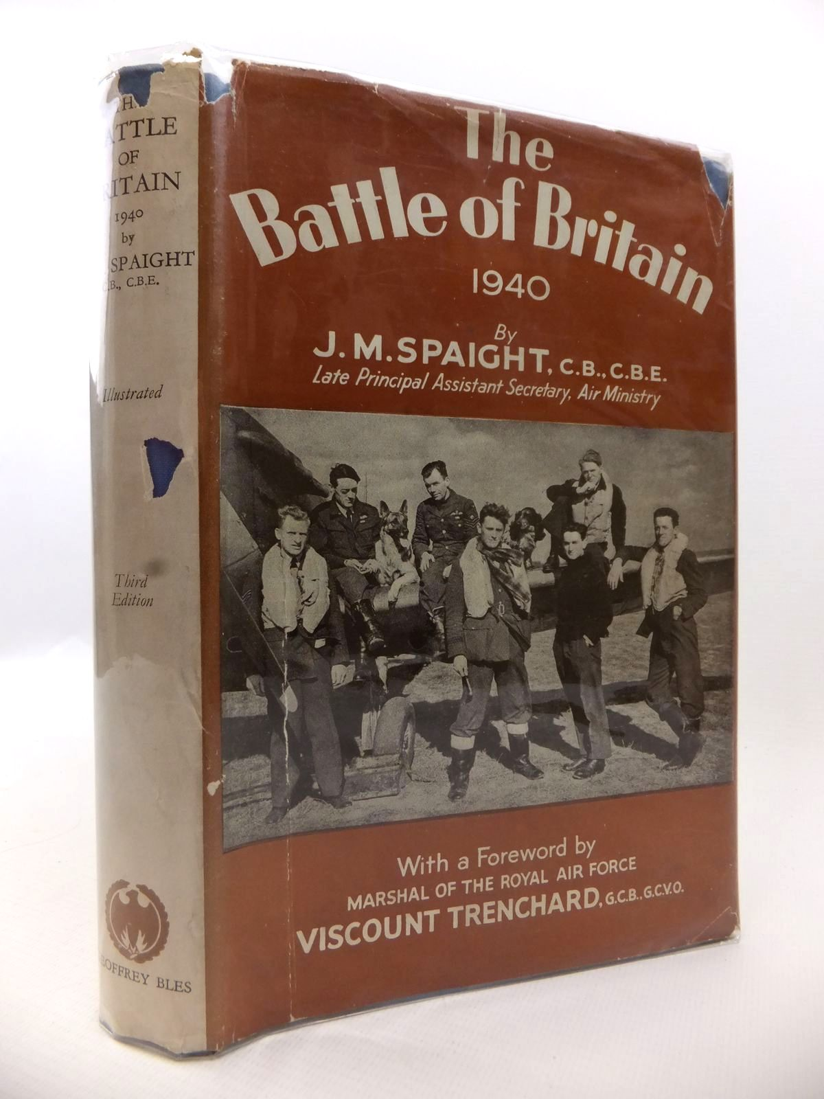 Photo of THE BATTLE OF BRITAIN 1940 written by Spaight, J.M. published by Geoffrey Bles (STOCK CODE: 1812956)  for sale by Stella & Rose's Books