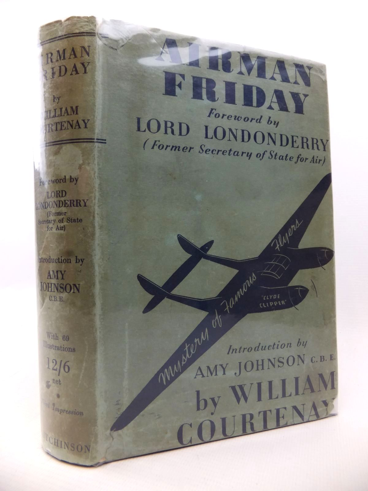 Photo of AIRMAN FRIDAY written by Courtenay, William published by Hutchinson & Co. Ltd (STOCK CODE: 1812960)  for sale by Stella & Rose's Books