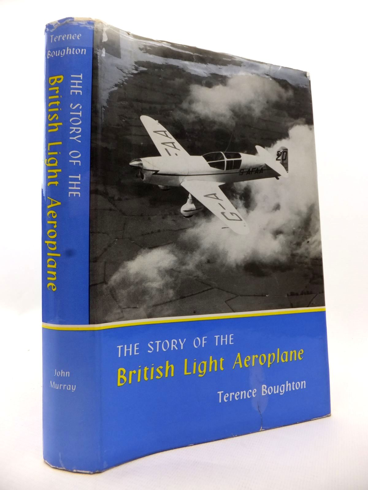 Photo of THE STORY OF THE BRITISH LIGHT AEROPLANE written by Boughton, Terence published by John Murray (STOCK CODE: 1812974)  for sale by Stella & Rose's Books