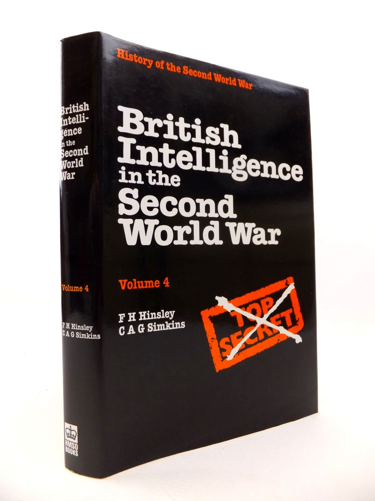 Photo of BRITISH INTELLIGENCE IN THE SECOND WORLD WAR VOLUME FOUR written by Hinsley, F.H.<br />Simkins, C.A.G. published by HMSO (STOCK CODE: 1813030)  for sale by Stella & Rose's Books