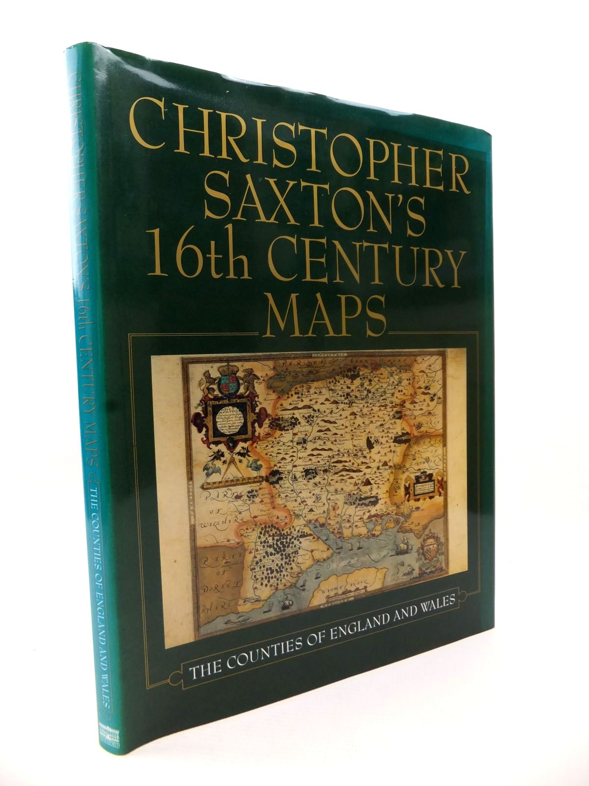 Photo of CHRISTOPHER SAXTON'S 16TH CENTURY MAPS: THE COUNTIES OF ENGLAND & WALES written by Saxton, Christopher<br />Ravenhill, William illustrated by Saxton, Christopher published by Chatsworth (STOCK CODE: 1813188)  for sale by Stella & Rose's Books