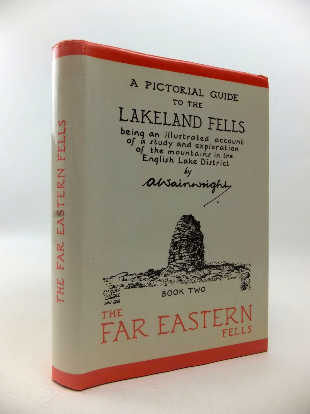Photo of A PICTORIAL GUIDE TO THE LAKELAND FELLS BOOK TWO THE FAR EASTERN FELLS written by Wainwright, A. illustrated by Wainwright, A. published by Westmorland Gazette (STOCK CODE: 1813235)  for sale by Stella & Rose's Books