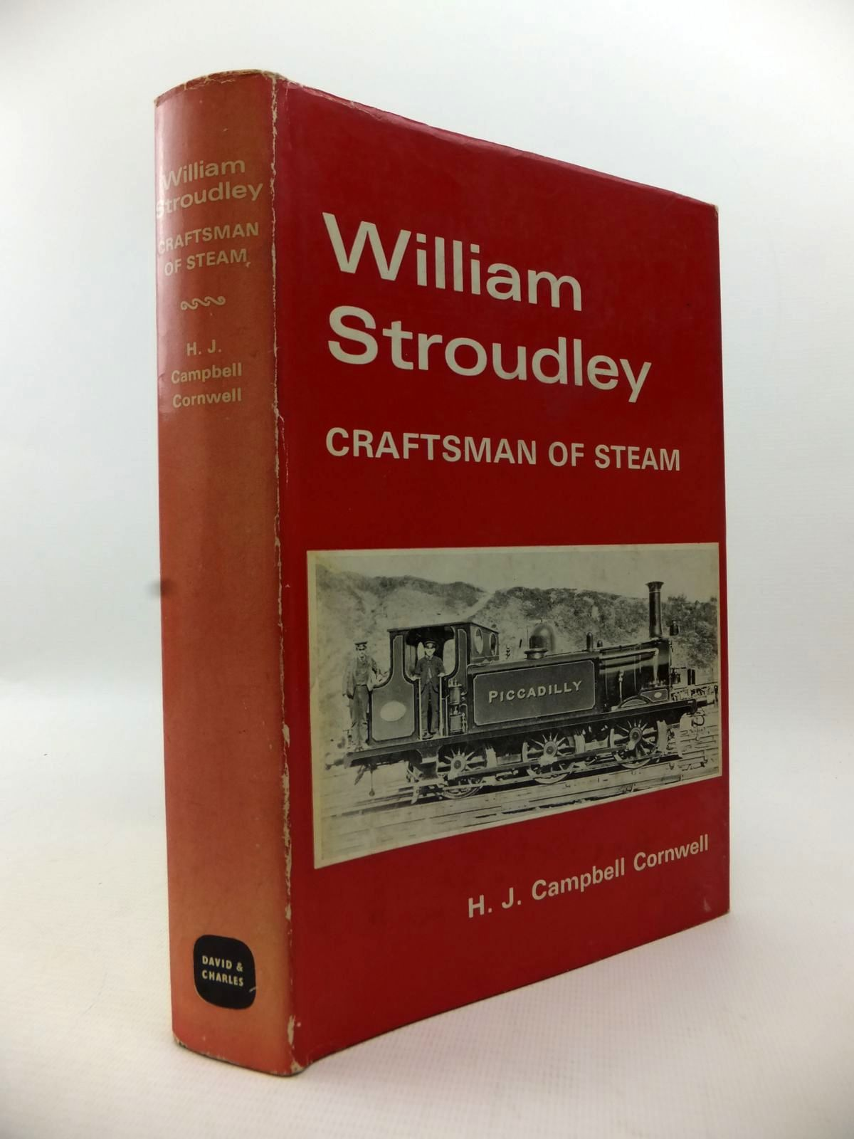 Photo of WILLIAM STROUDLEY CRAFTSMAN OF STEAM written by Cornwell, H.J. Campbell published by David & Charles (STOCK CODE: 1813244)  for sale by Stella & Rose's Books