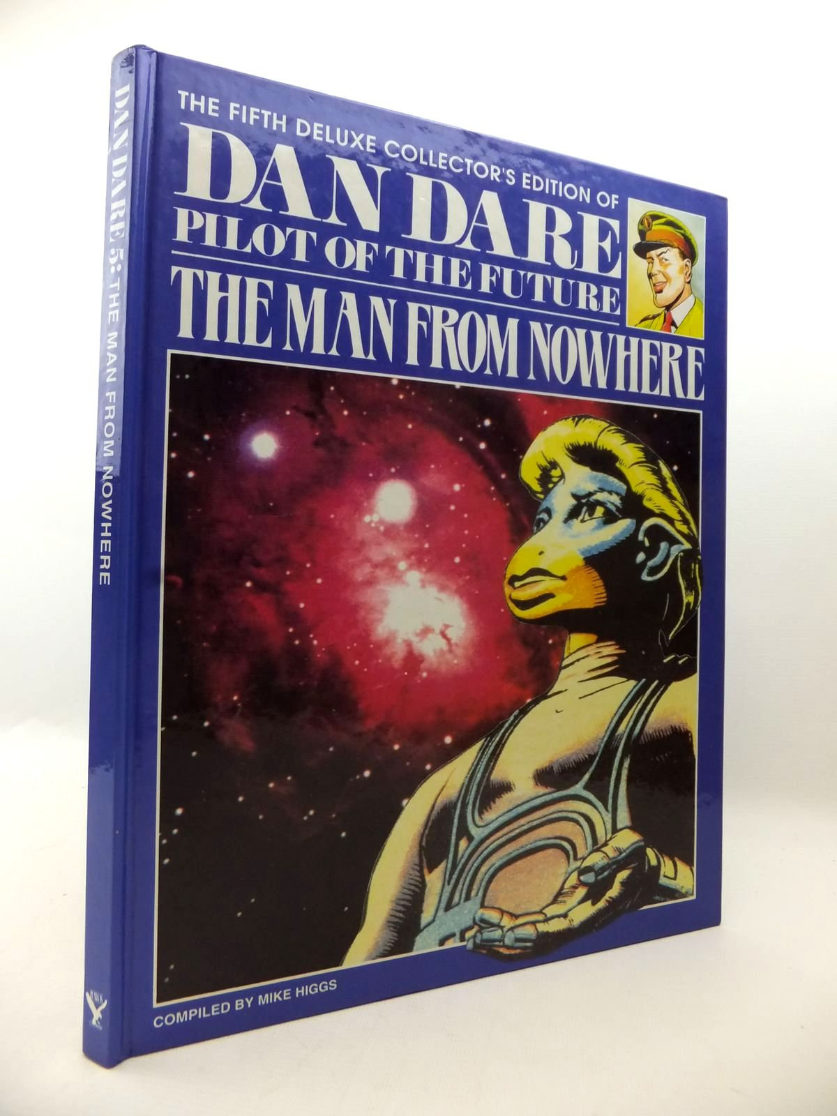 Photo of THE FIFTH DELUXE COLLECTOR'S EDITION OF DAN DARE PILOT OF THE FUTURE THE MAN FROM NOWHERE written by Higgs, Mike published by Hawk Books (STOCK CODE: 1813309)  for sale by Stella & Rose's Books
